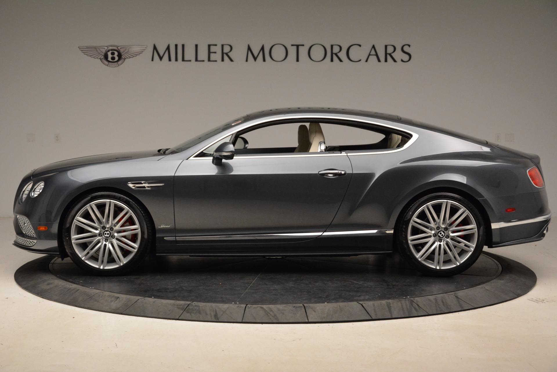 New 2017 Bentley Continental GT Speed For Sale In Westport, CT 1715_p3