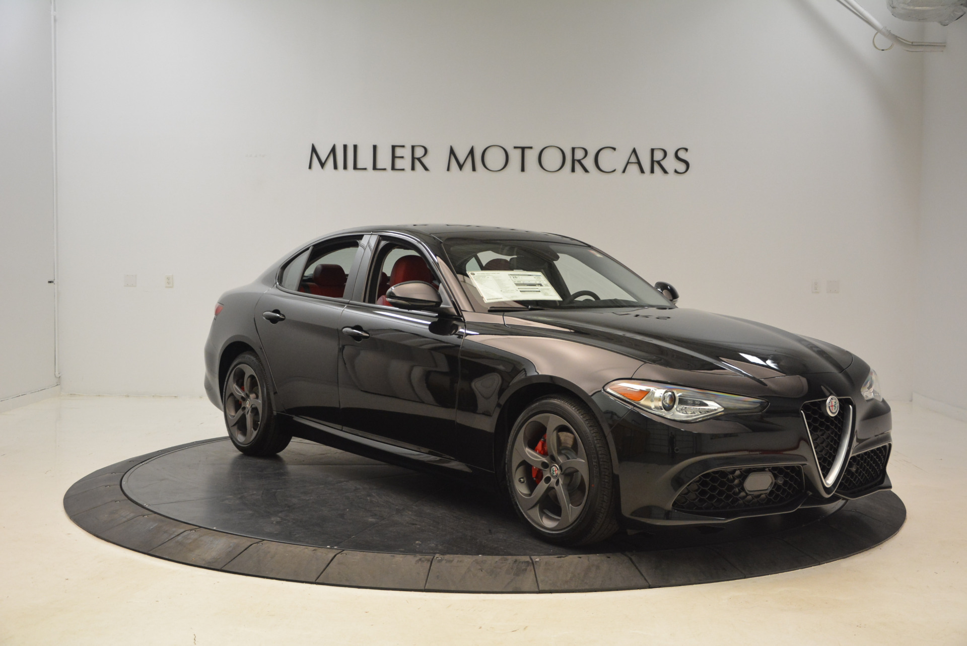 New 2018 Alfa Romeo Giulia Ti Sport Q4 For Sale In Westport, CT 1724_p11