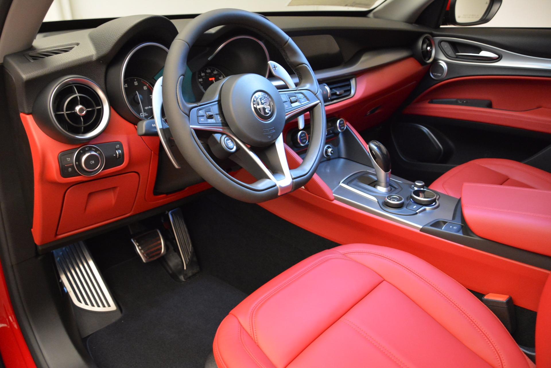 New 2018 Alfa Romeo Stelvio Sport Q4 For Sale In Westport, CT 1725_p13