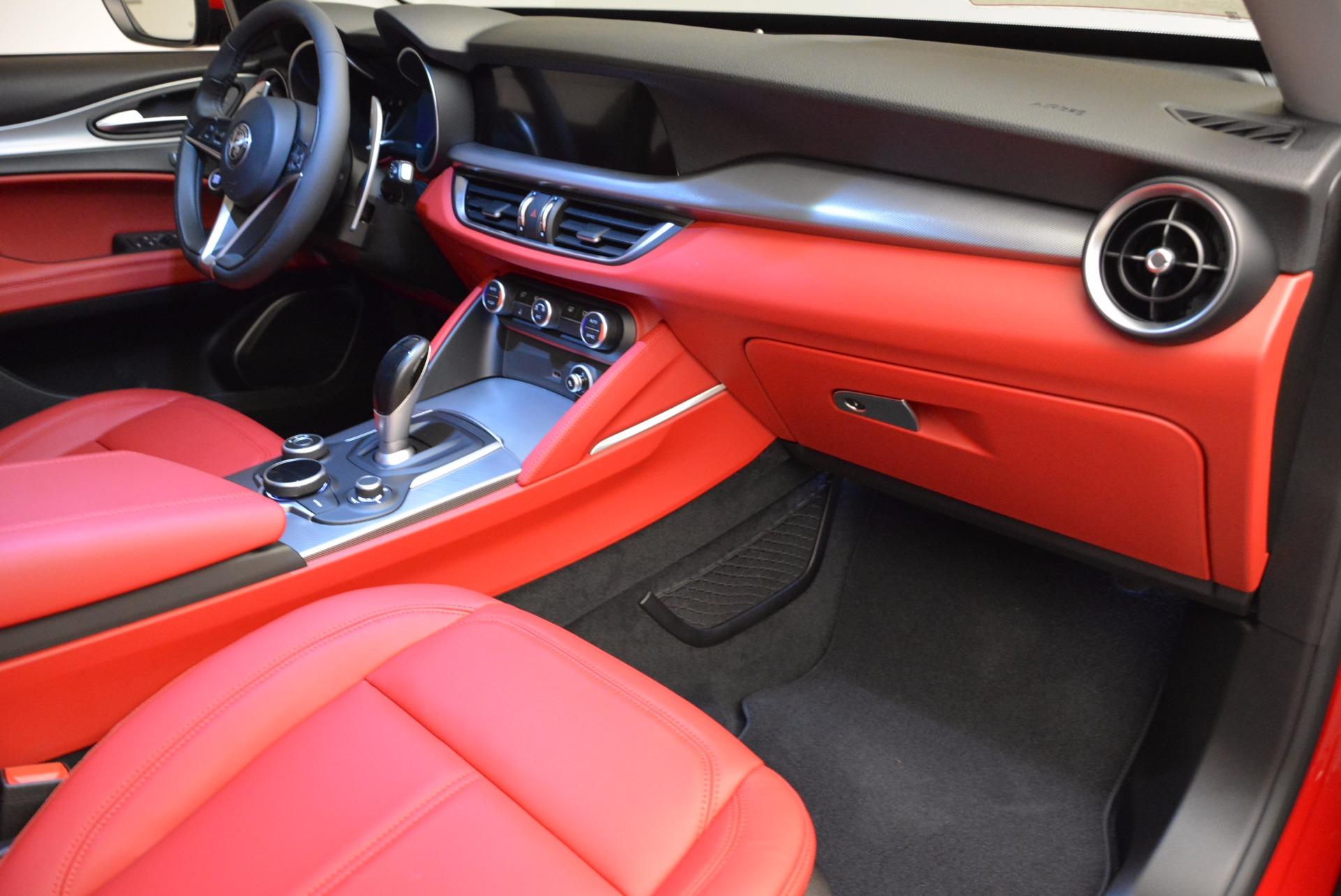 New 2018 Alfa Romeo Stelvio Sport Q4 For Sale In Westport, CT 1725_p19