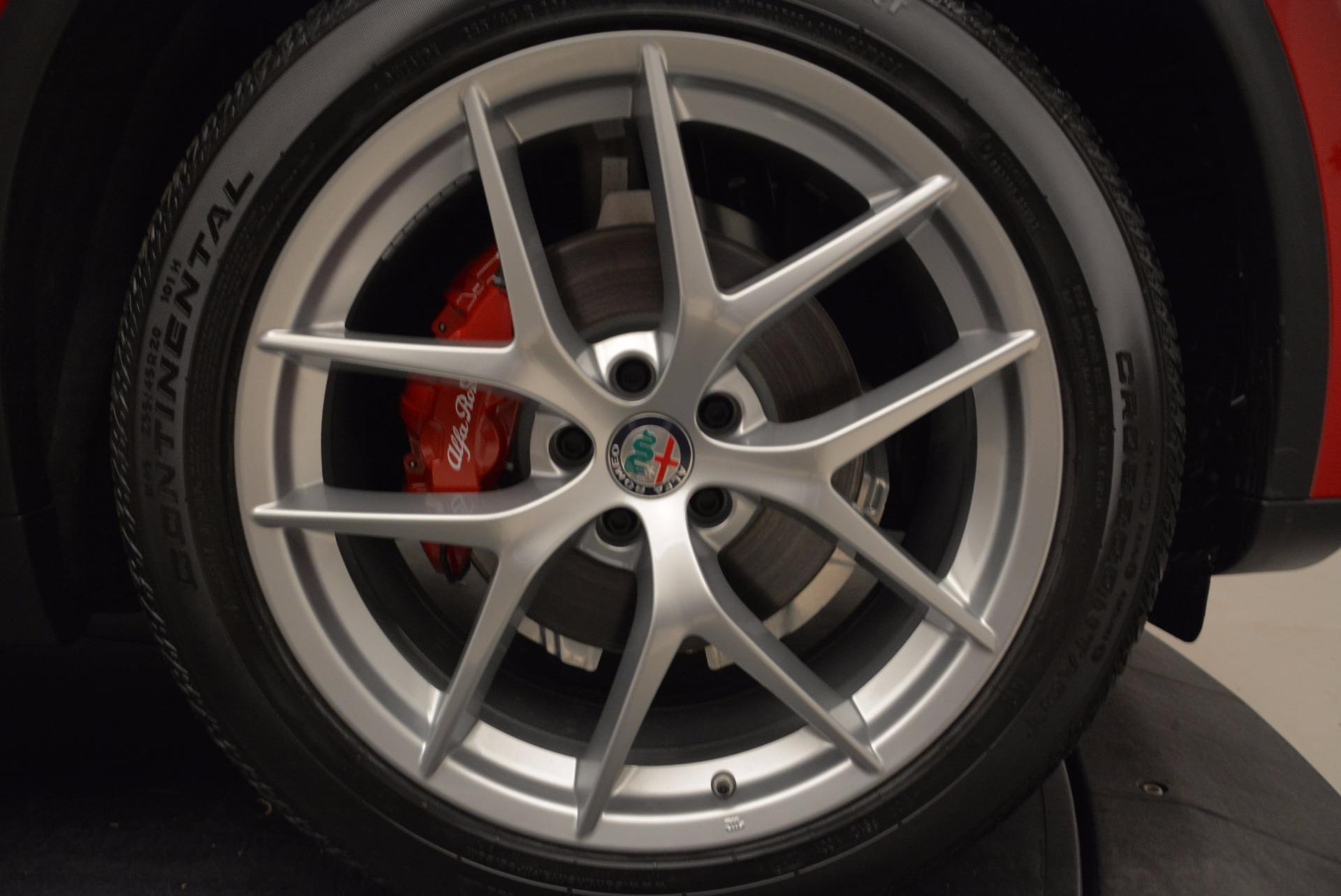 New 2018 Alfa Romeo Stelvio Sport Q4 For Sale In Westport, CT 1725_p25