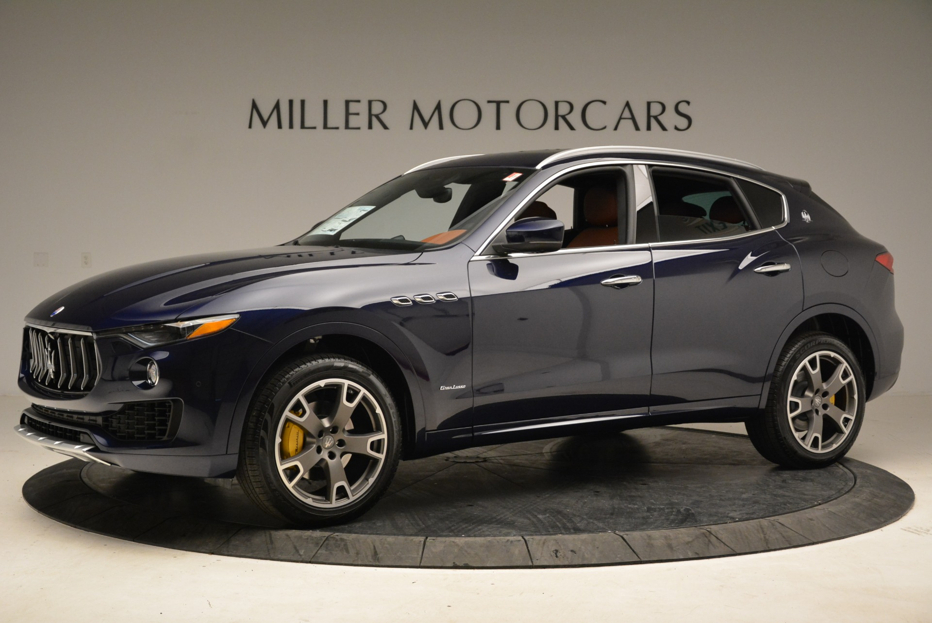 New 2018 Maserati Levante Q4 GranLusso For Sale In Westport, CT 1730_p3