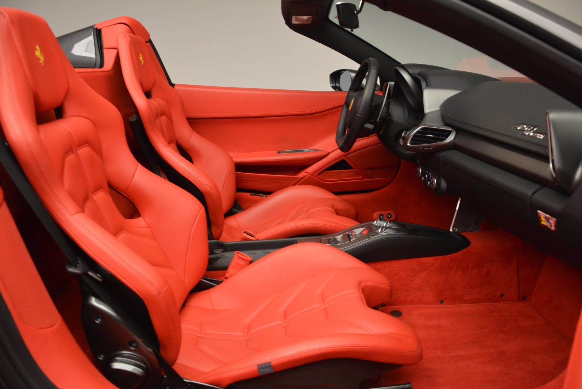 Used 2014 Ferrari 458 Spider  For Sale In Westport, CT 1734_p30