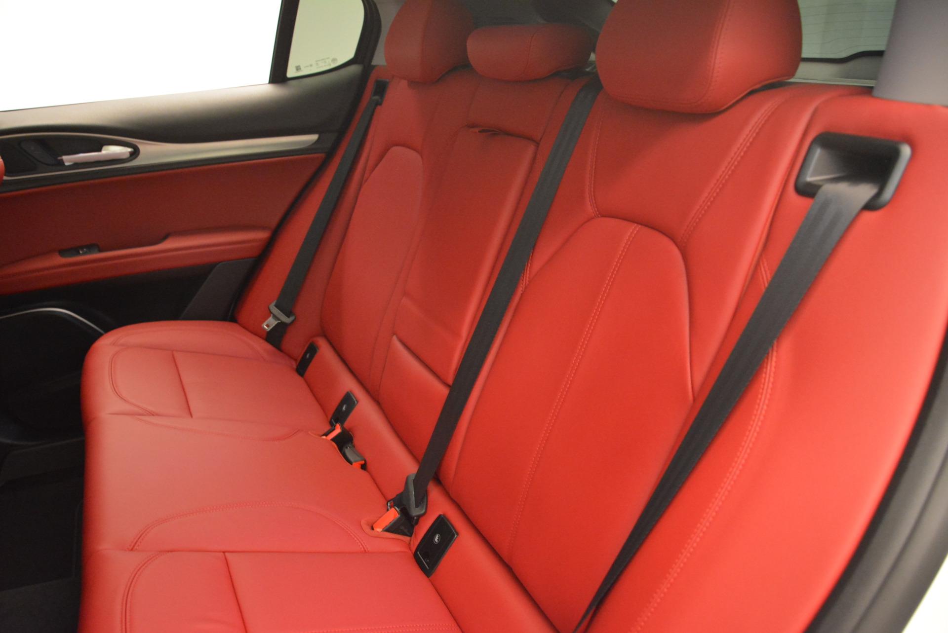 New 2018 Alfa Romeo Stelvio Sport Q4 For Sale In Westport, CT 1738_p18
