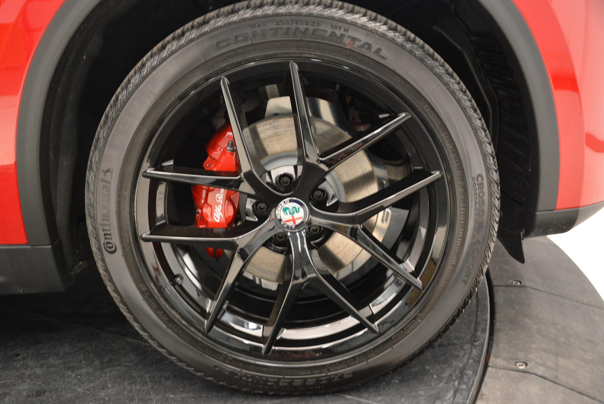 New 2018 Alfa Romeo Stelvio Ti Sport Q4 For Sale In Westport, CT 1742_p25