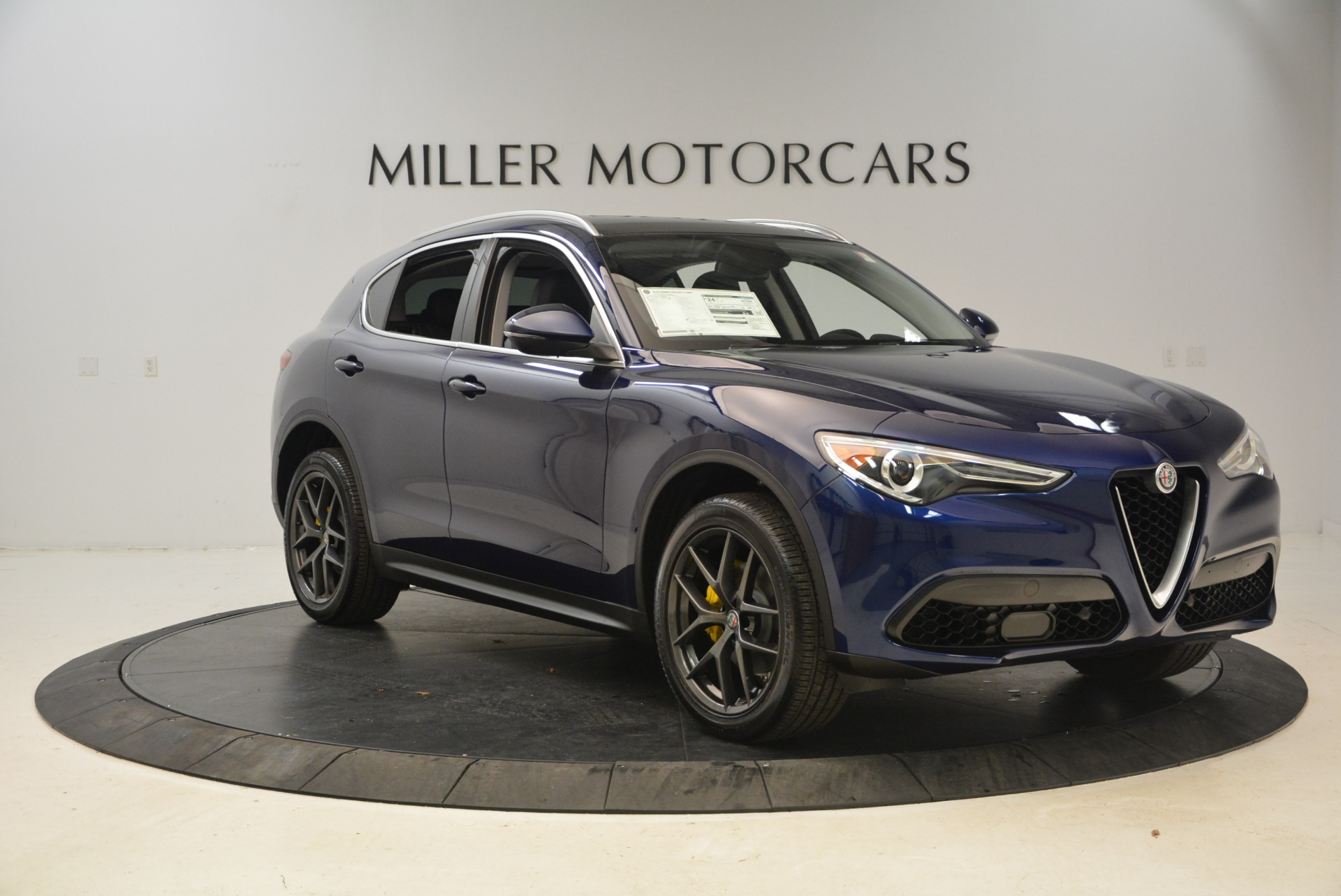 New 2018 Alfa Romeo Stelvio Sport Q4 For Sale In Westport, CT 1743_p11