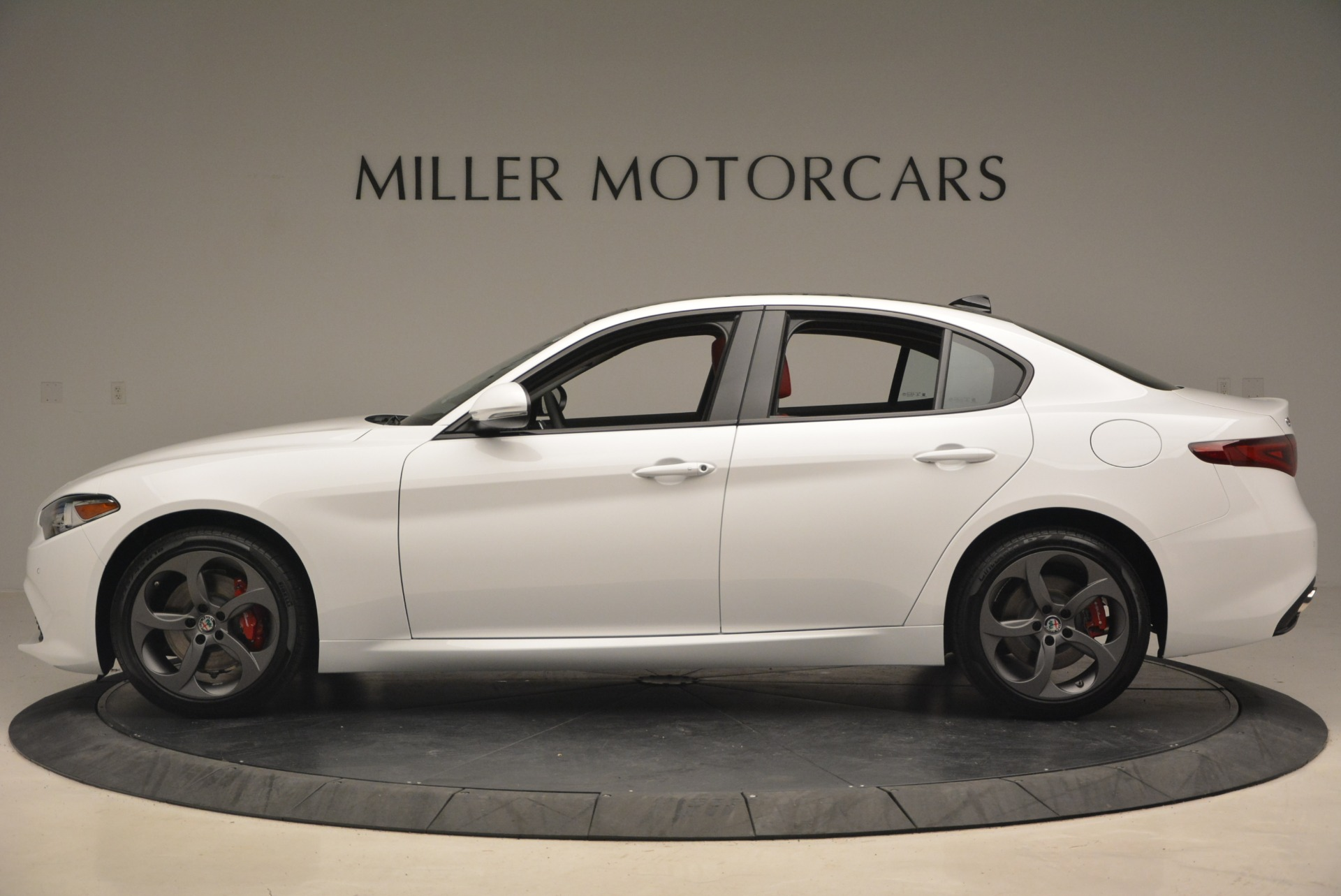 New 2018 Alfa Romeo Giulia Ti Sport Q4 For Sale In Westport, CT 1745_p4