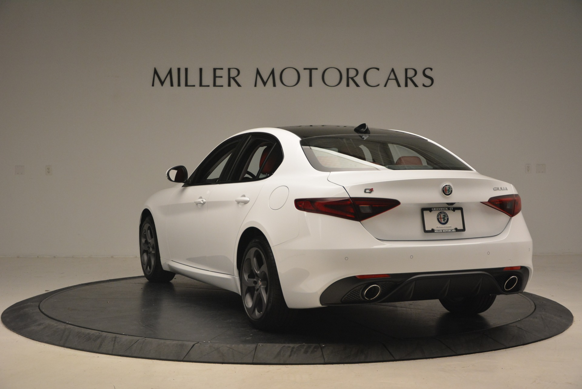 New 2018 Alfa Romeo Giulia Ti Sport Q4 For Sale In Westport, CT 1745_p6