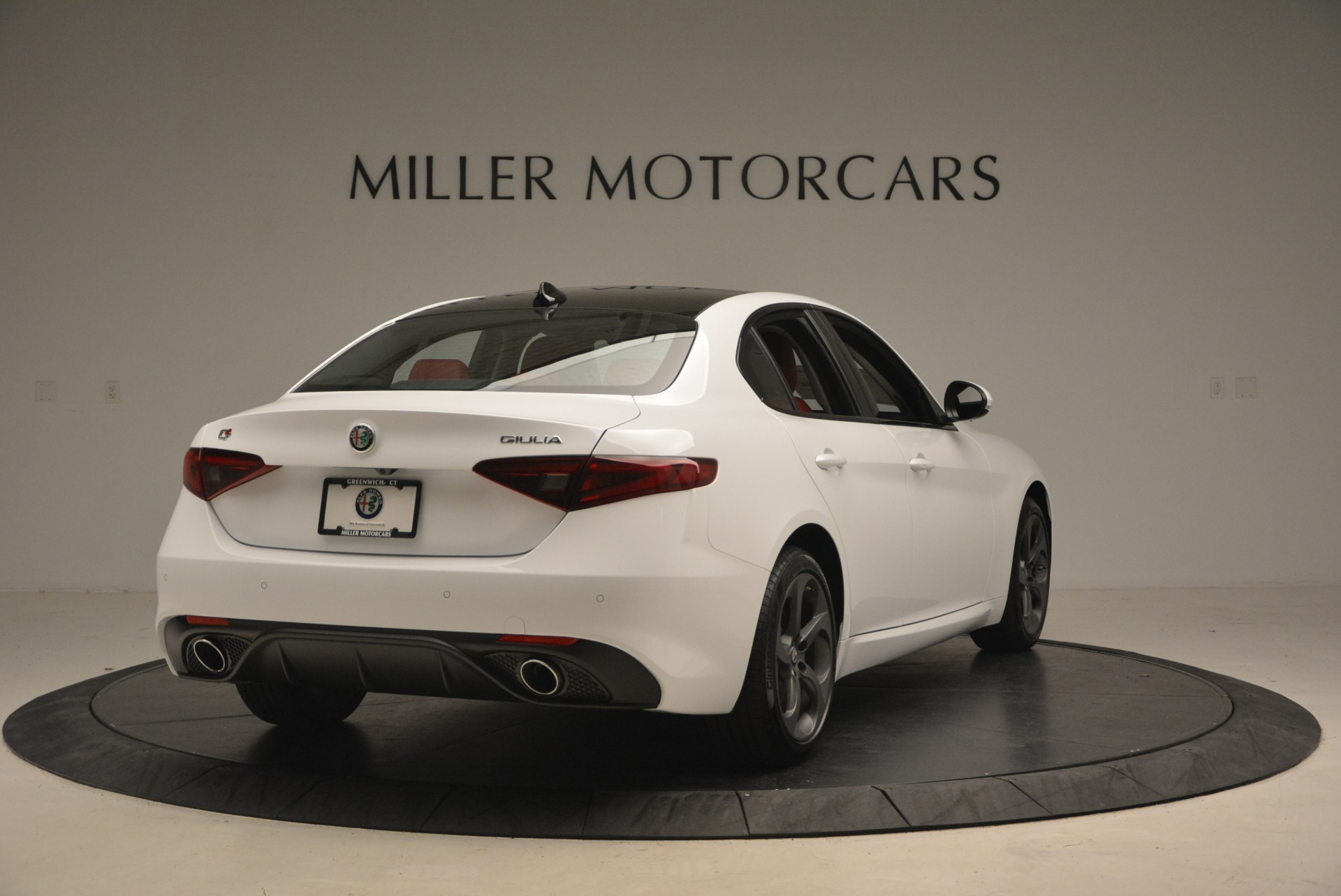 New 2018 Alfa Romeo Giulia Ti Sport Q4 For Sale In Westport, CT 1745_p8