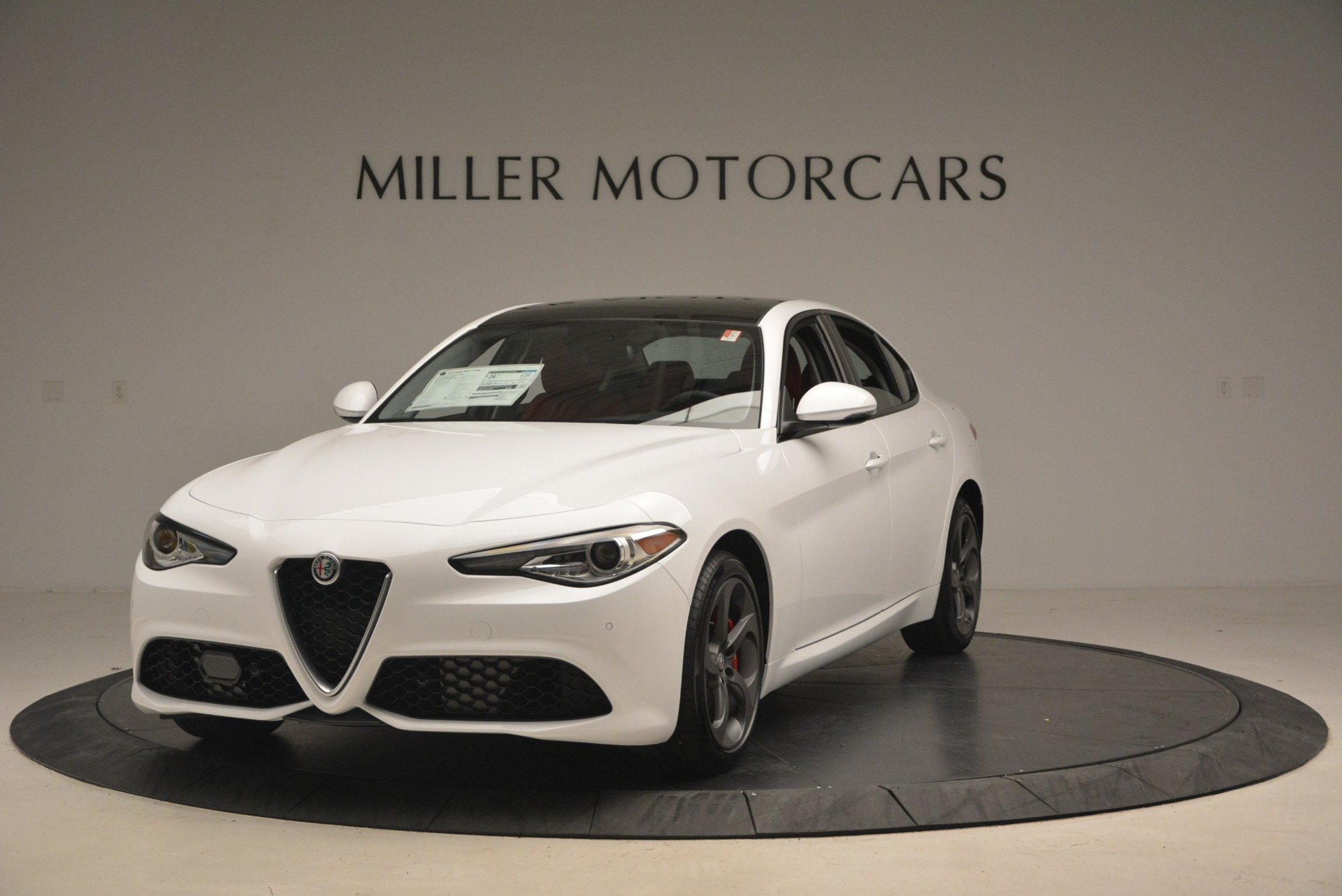 New 2018 Alfa Romeo Giulia Sport Q4 For Sale In Westport, CT 1750_main