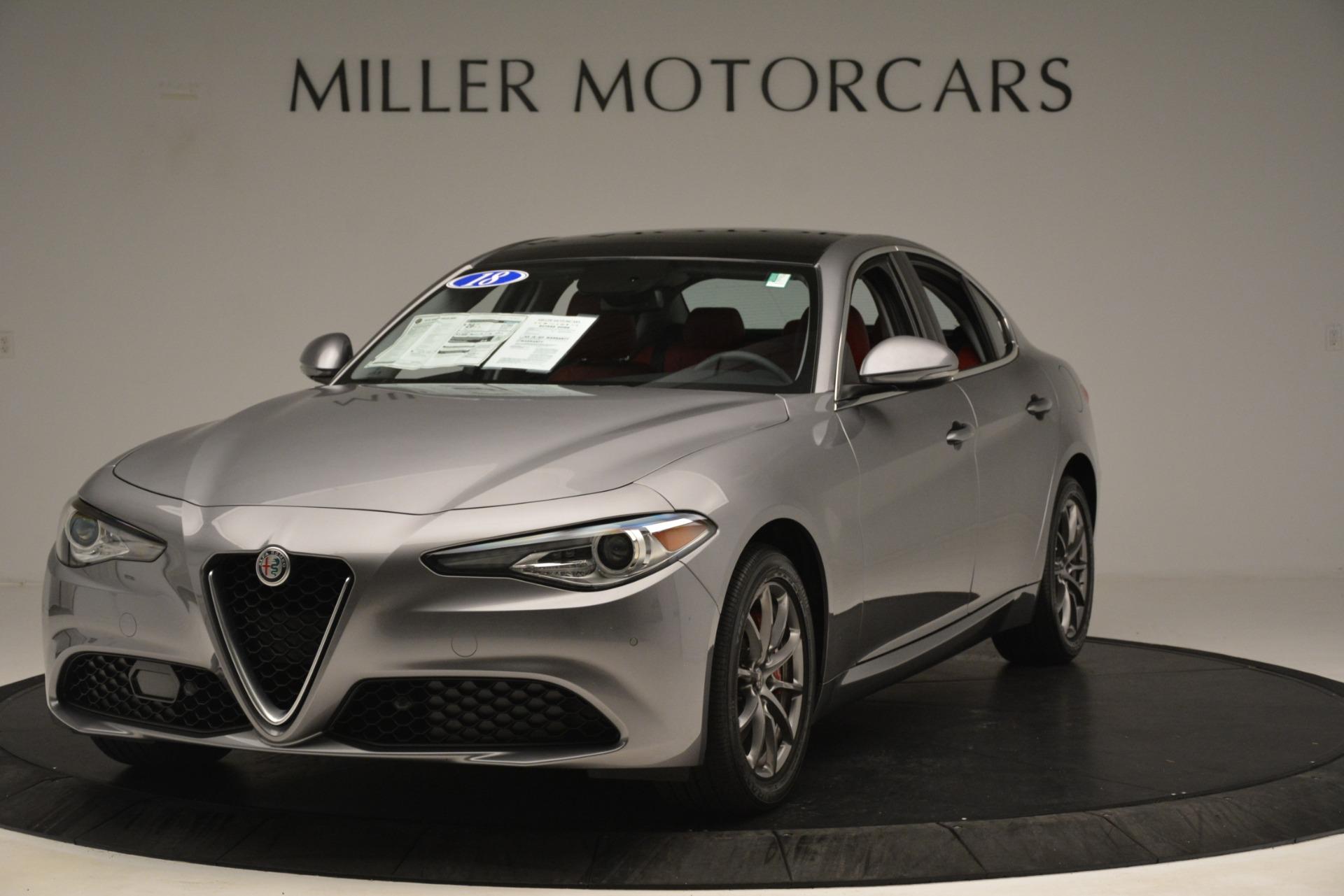 New 2018 Alfa Romeo Giulia Q4 For Sale In Westport, CT 1751_main