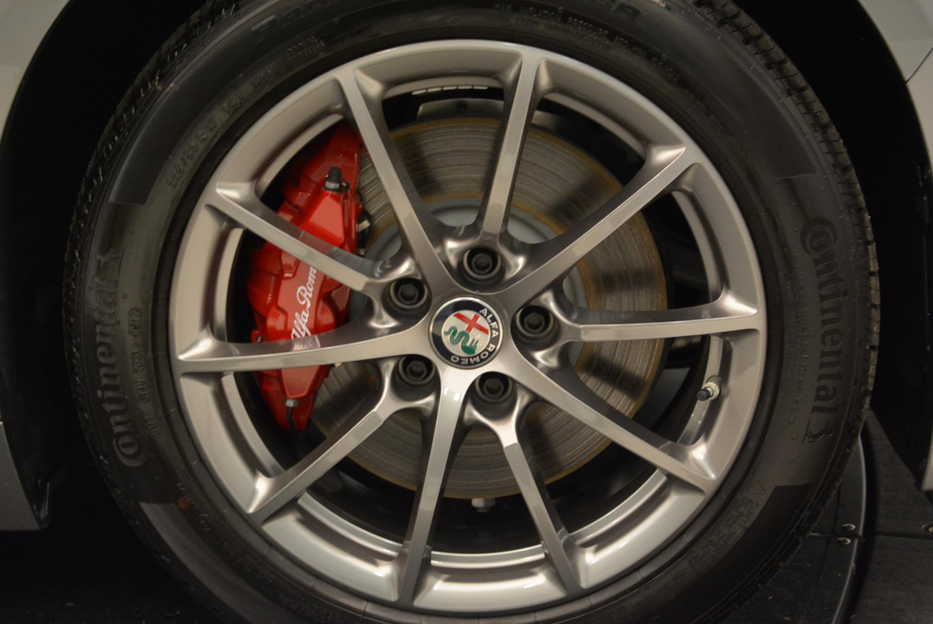 New 2018 Alfa Romeo Giulia Q4 For Sale In Westport, CT 1756_p25