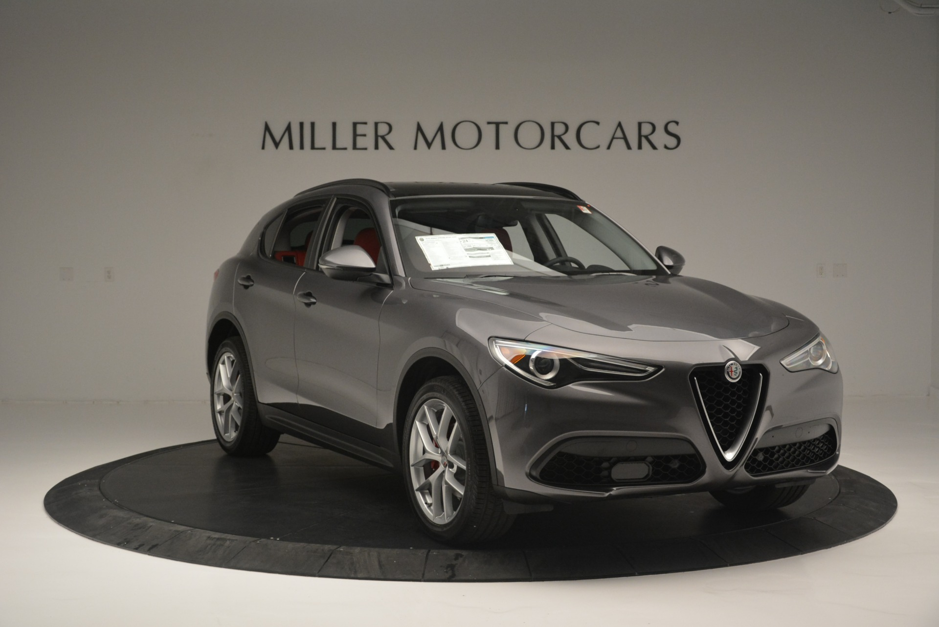 New 2018 Alfa Romeo Stelvio Sport Q4 For Sale In Westport, CT 1761_p11