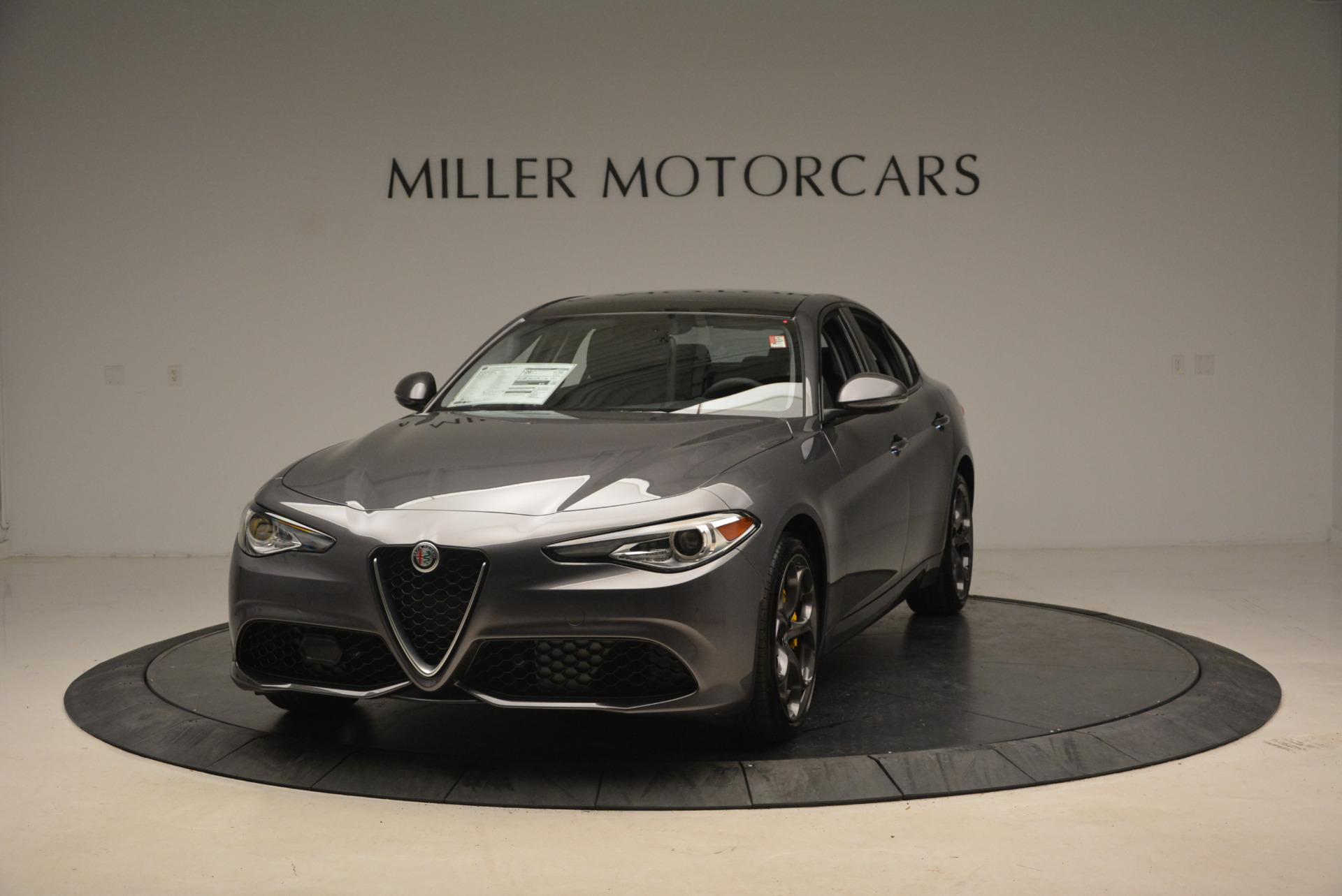 New 2018 Alfa Romeo Giulia Ti Sport Q4 For Sale In Westport, CT 1765_main