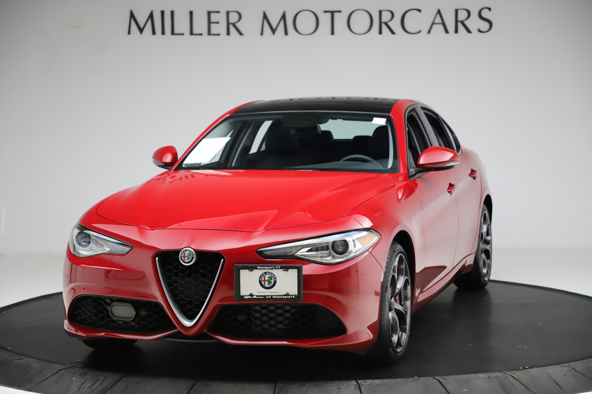 New 2018 Alfa Romeo Giulia Ti Sport Q4 For Sale In Westport, CT 1766_main