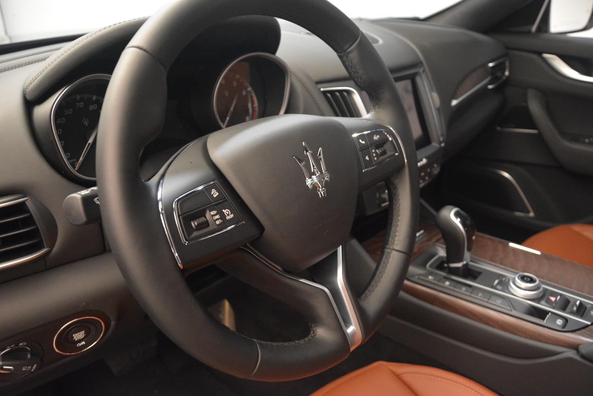 New 2018 Maserati Levante Q4 GranLusso For Sale In Westport, CT 1770_p16