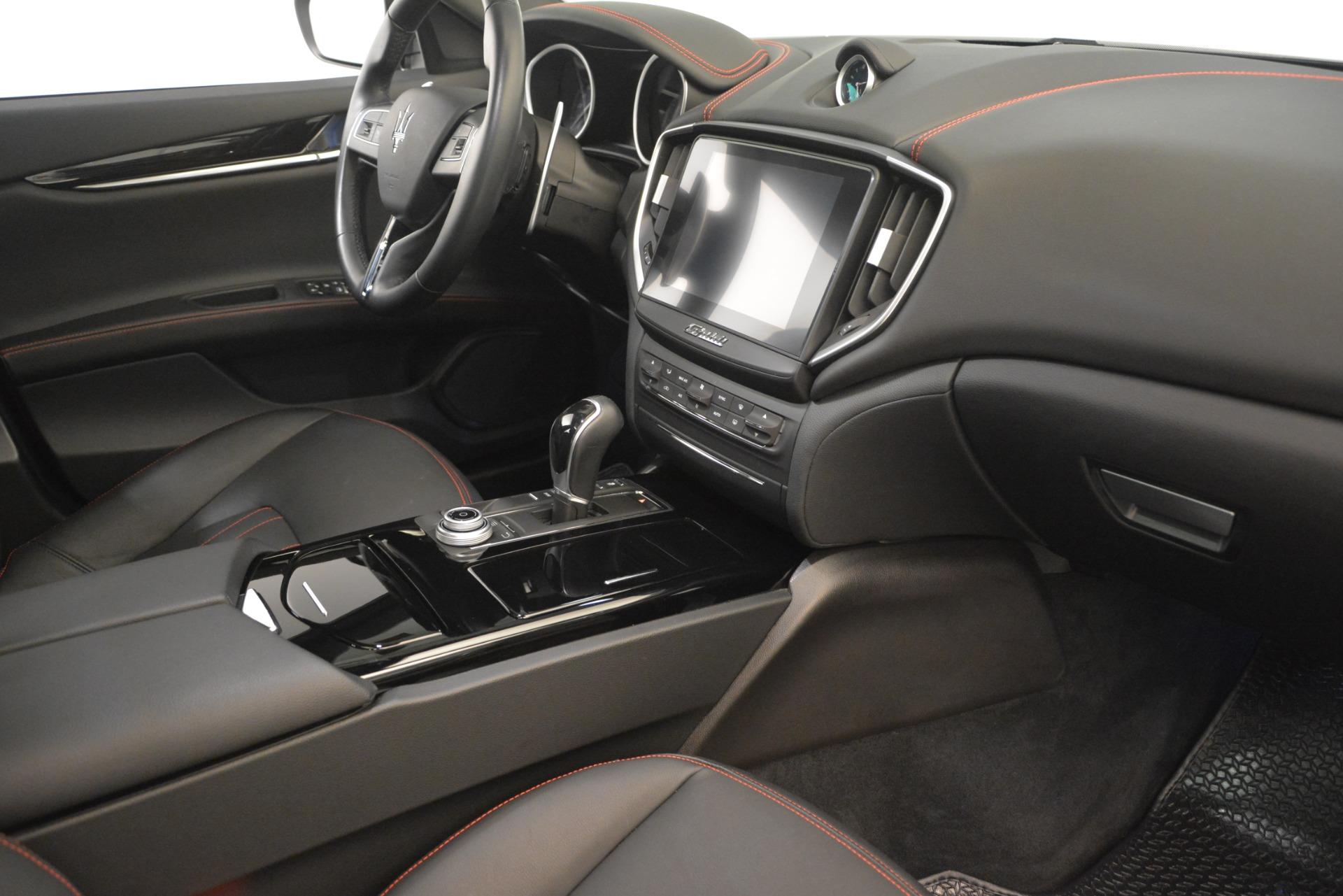 Used 2018 Maserati Ghibli S Q4 For Sale In Westport, CT 1772_p18