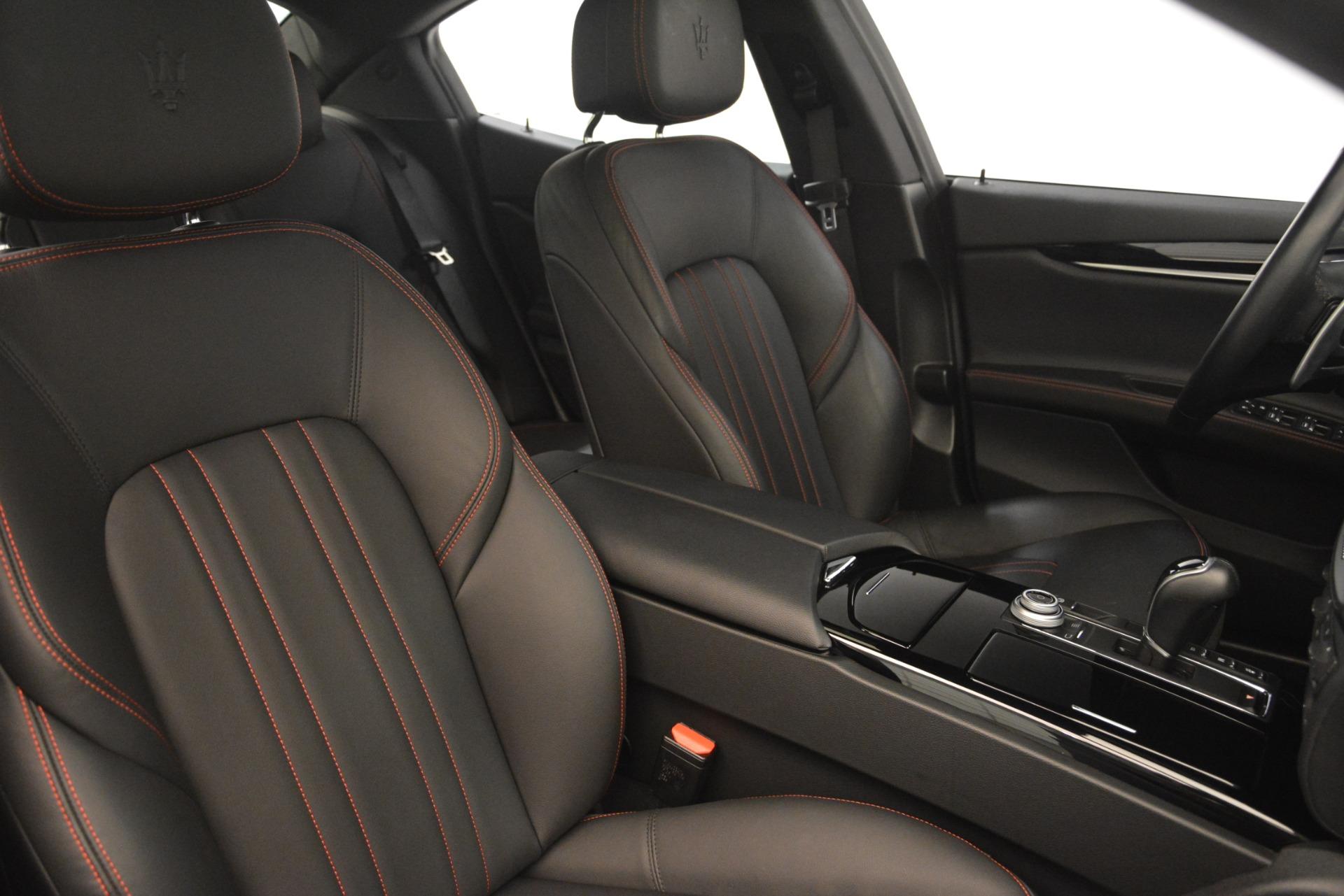 Used 2018 Maserati Ghibli S Q4 For Sale In Westport, CT 1772_p20