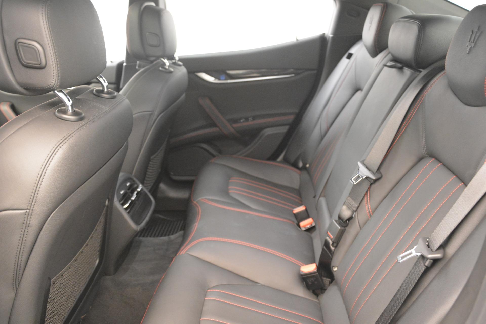 Used 2018 Maserati Ghibli S Q4 For Sale In Westport, CT 1772_p21
