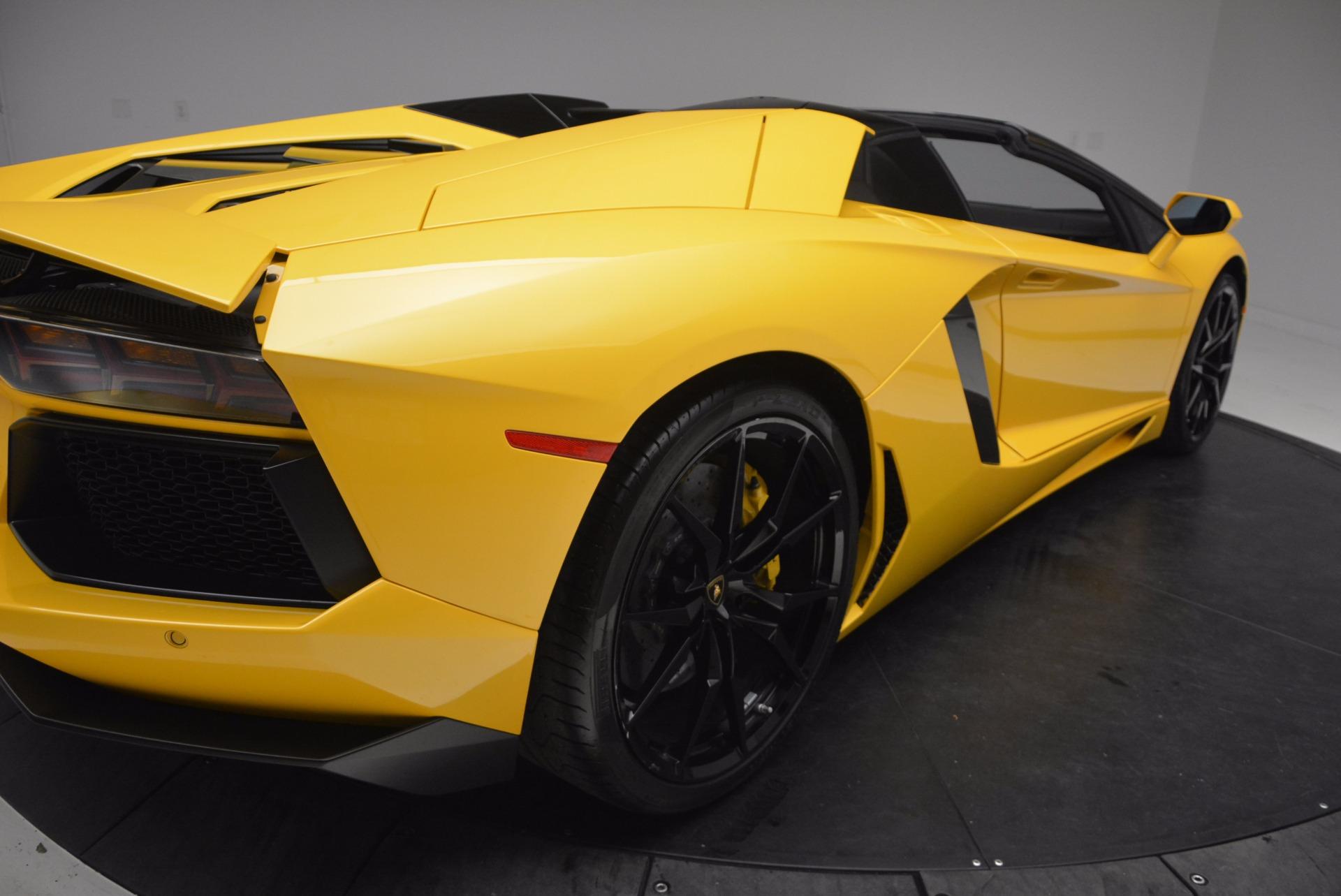 Used 2015 Lamborghini Aventador LP 700-4 Roadster For Sale In Westport, CT 1774_p20