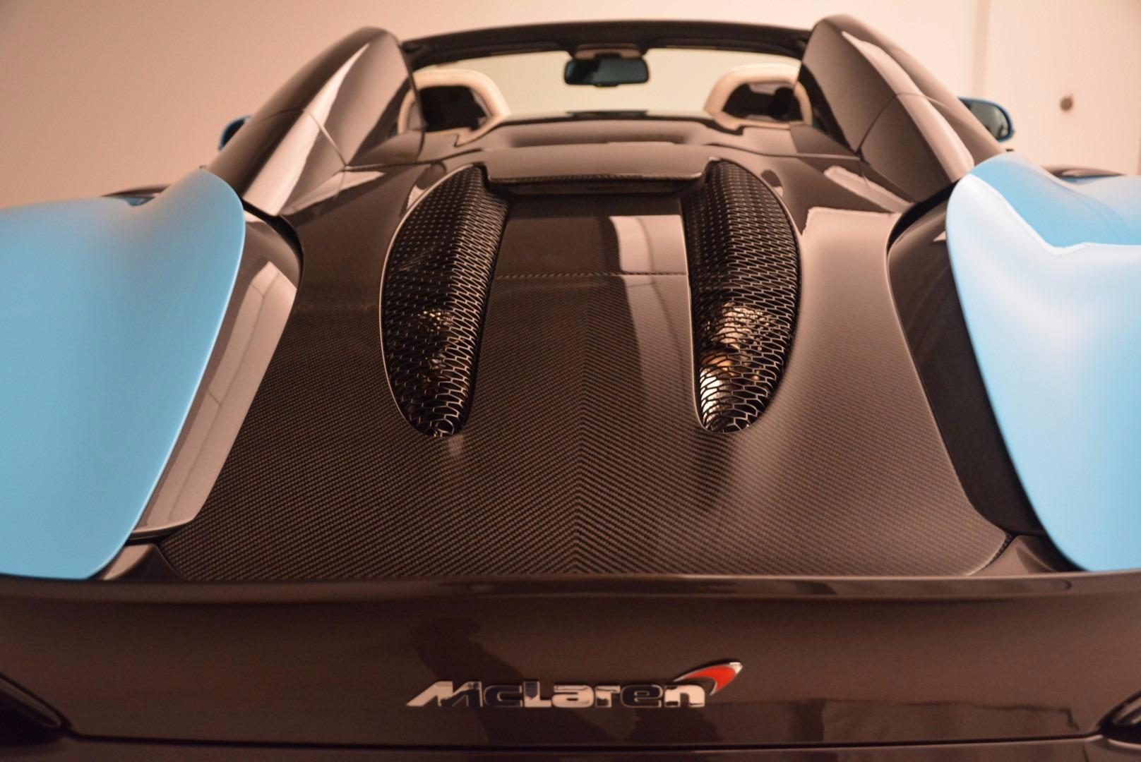New 2018 McLaren 570S Spider For Sale In Westport, CT 1775_p36