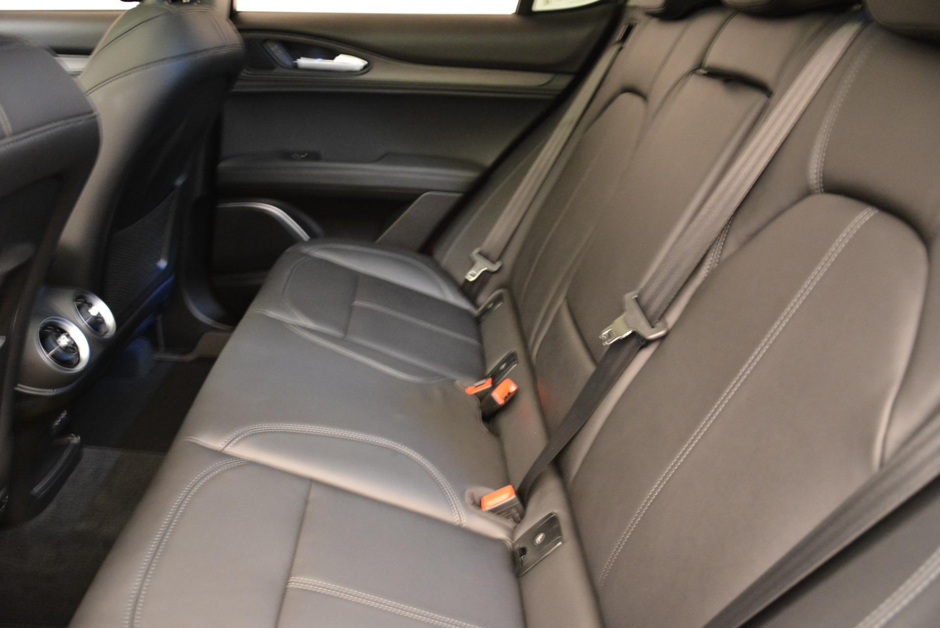 New 2018 Alfa Romeo Stelvio Ti Q4 For Sale In Westport, CT 1776_p17
