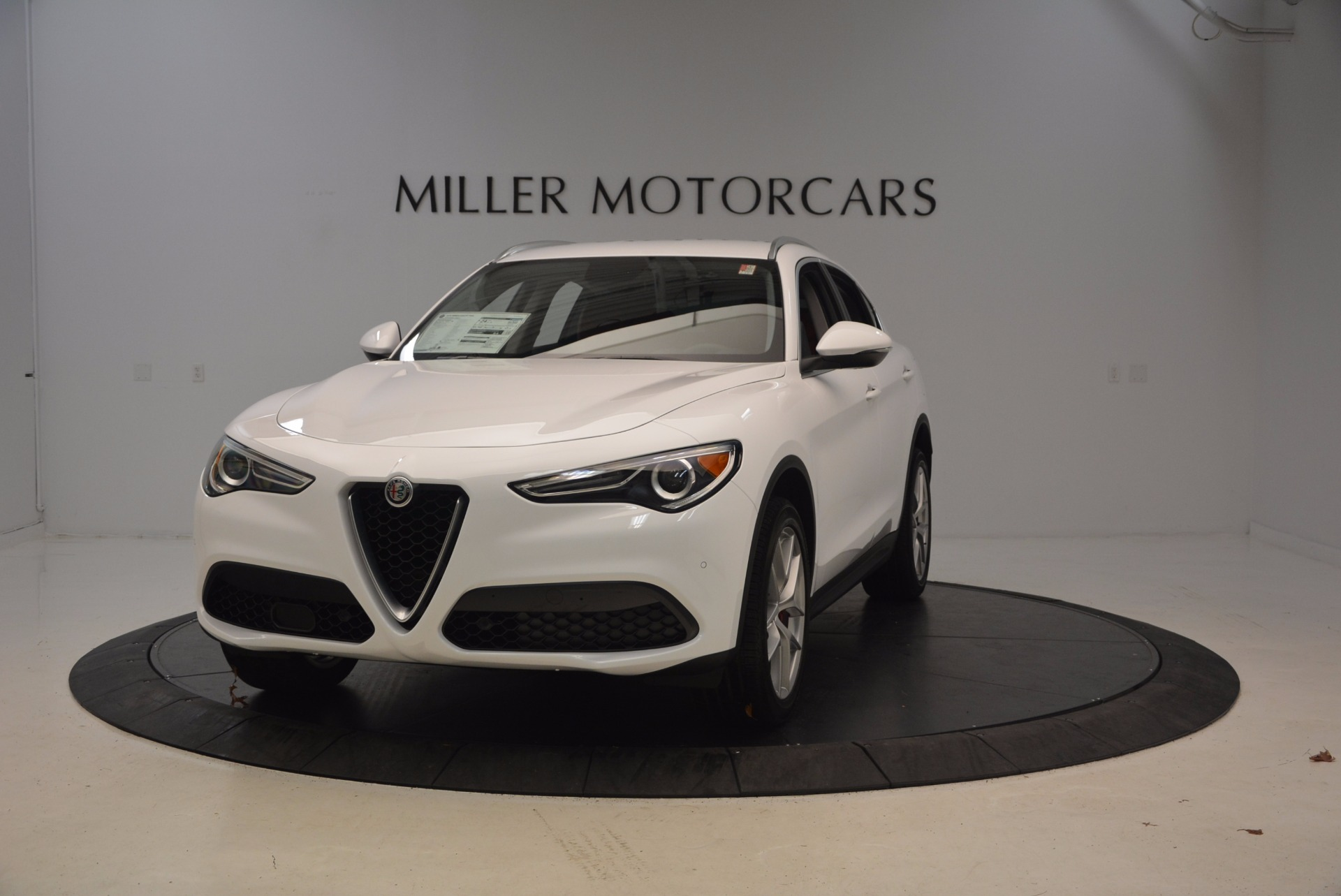 New 2018 Alfa Romeo Stelvio Ti Sport Q4 For Sale In Westport, CT 1777_main
