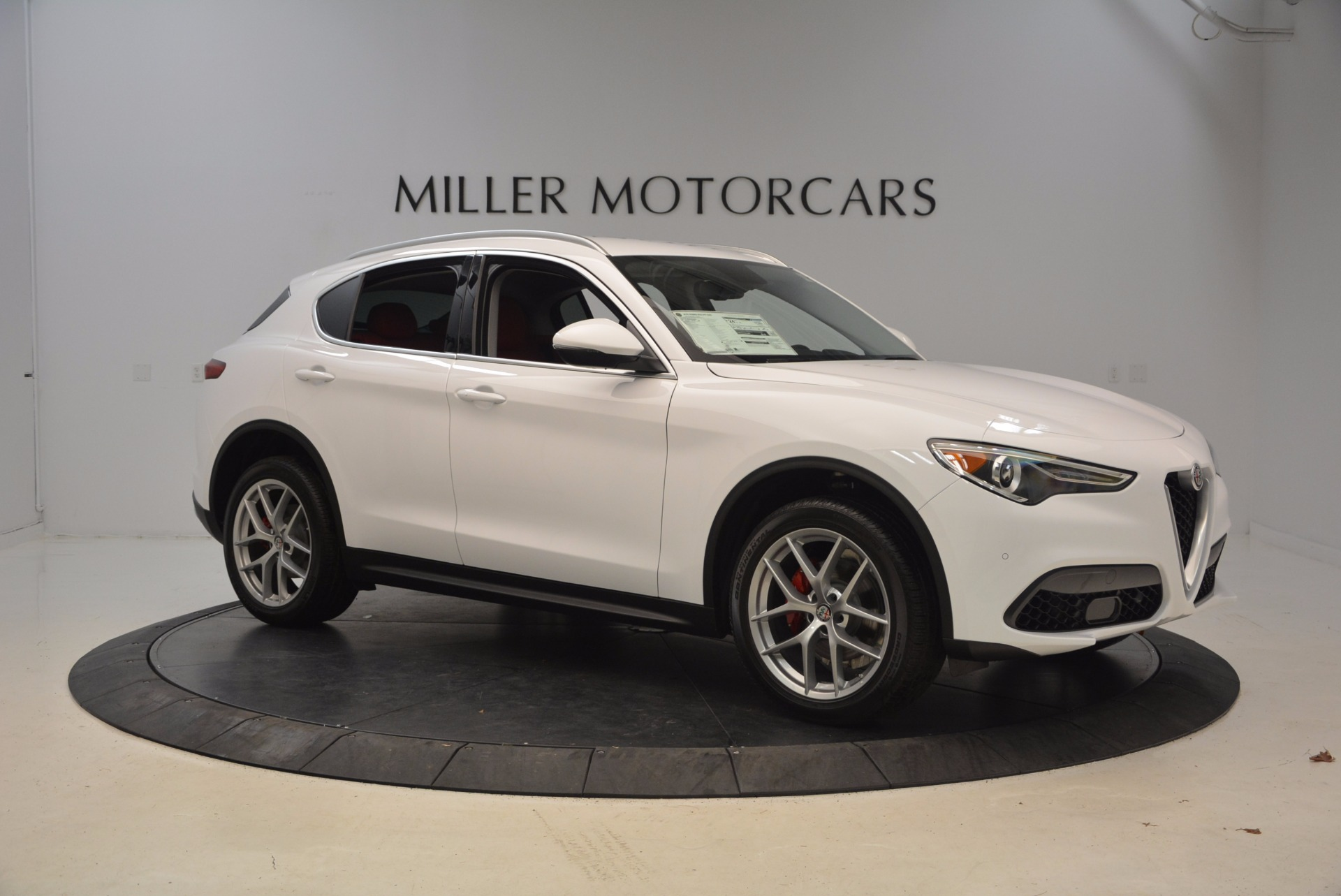 New 2018 Alfa Romeo Stelvio Ti Sport Q4 For Sale In Westport, CT 1777_p10