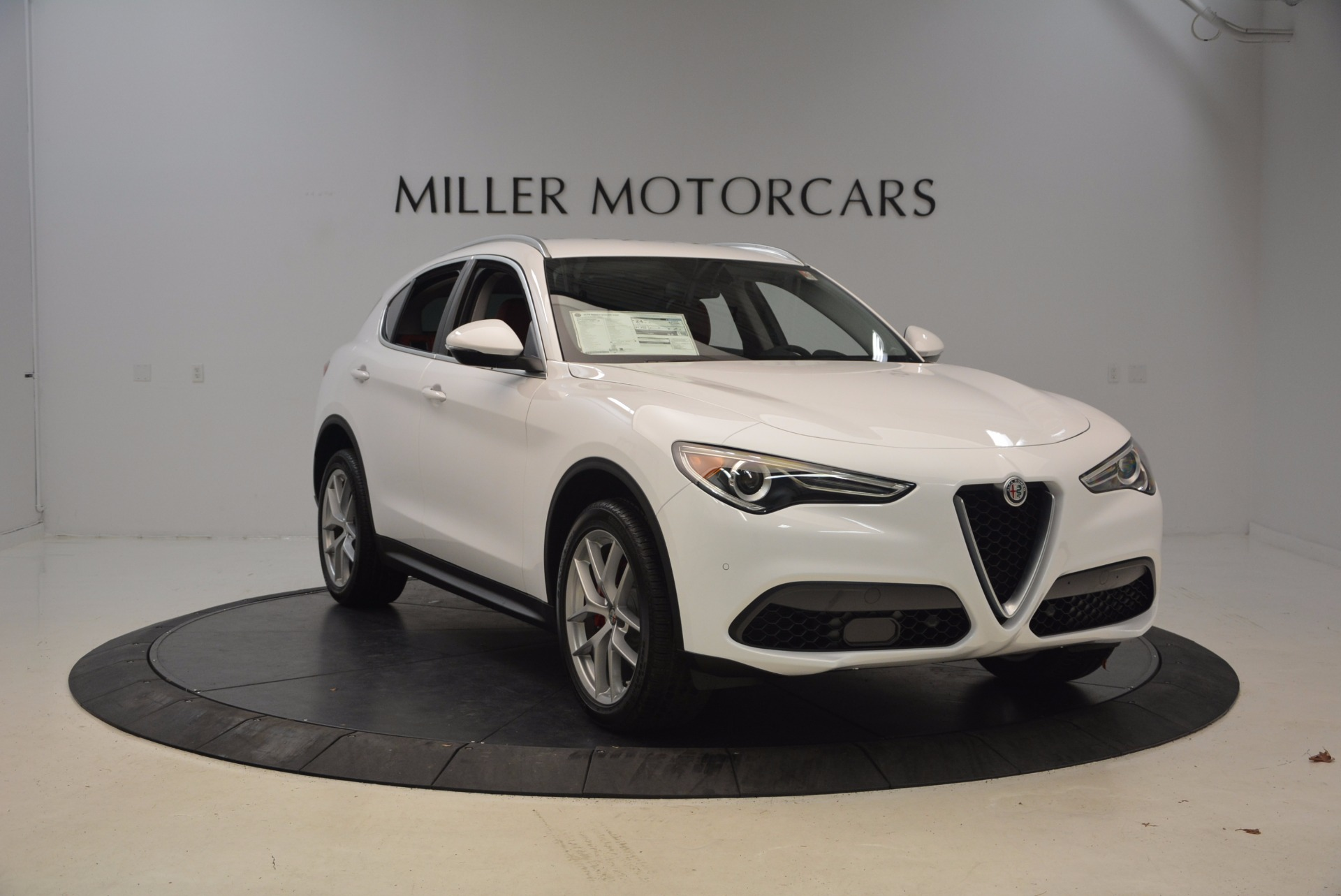 New 2018 Alfa Romeo Stelvio Ti Sport Q4 For Sale In Westport, CT 1777_p11