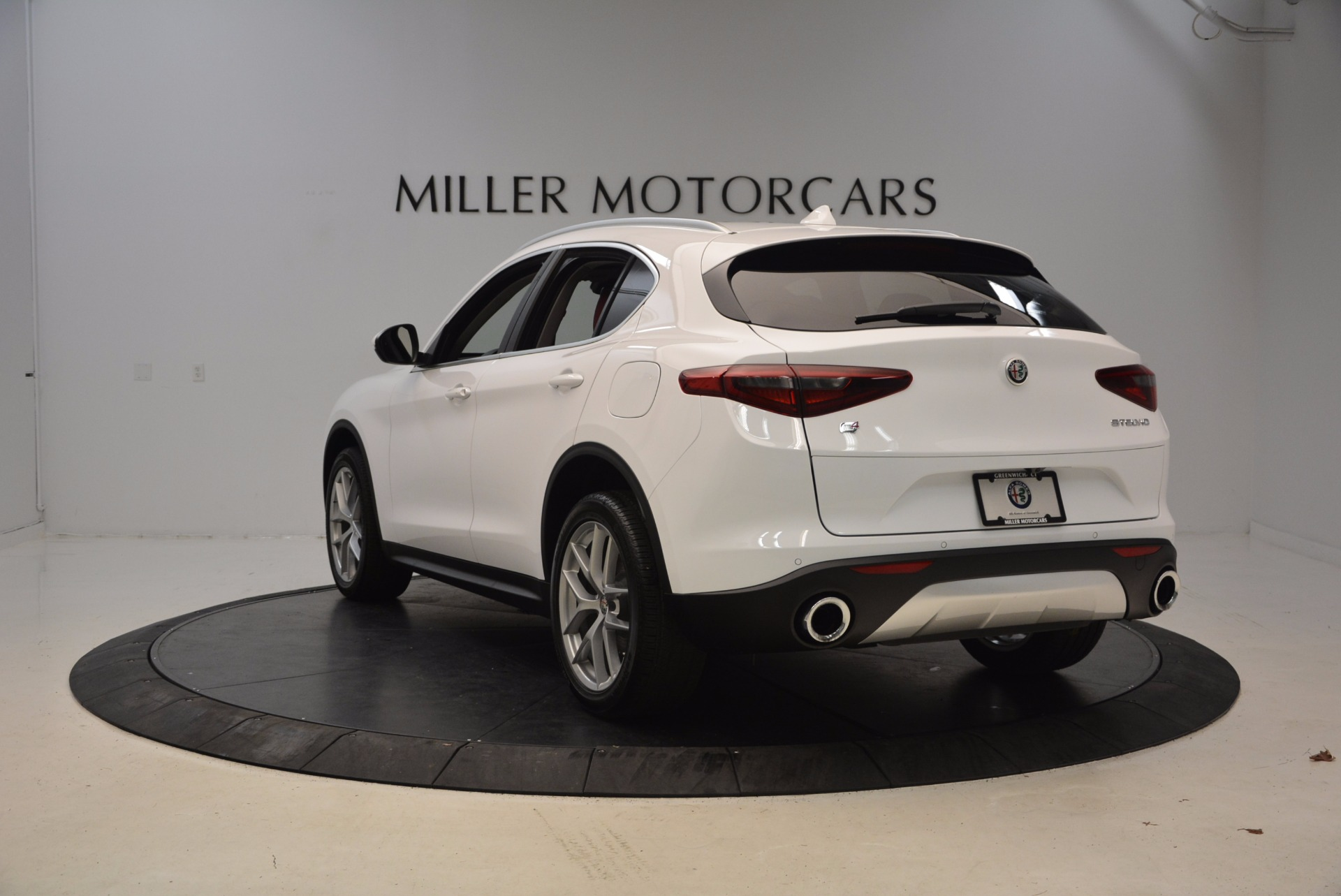 New 2018 Alfa Romeo Stelvio Ti Sport Q4 For Sale In Westport, CT 1777_p5