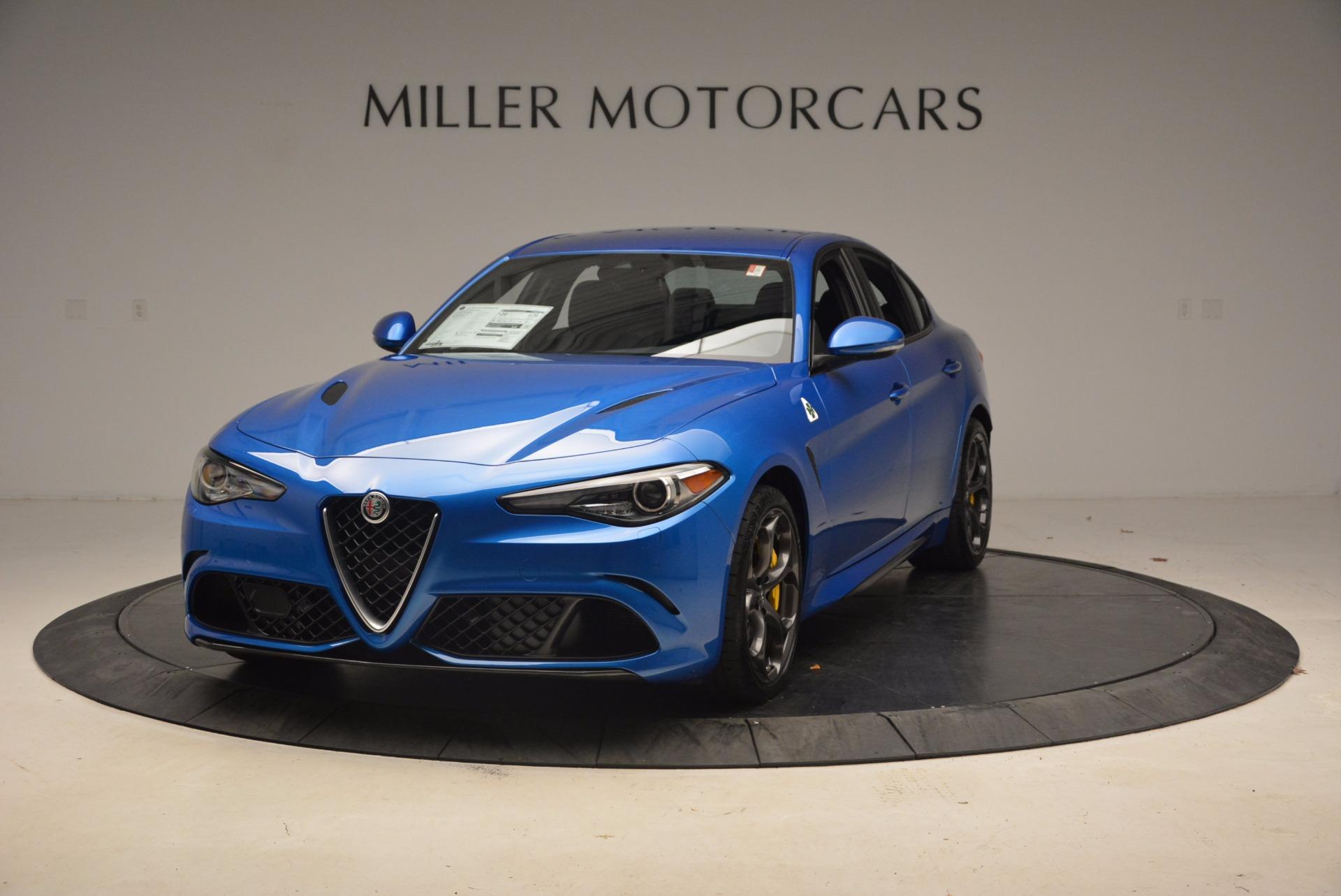 New 2018 Alfa Romeo Giulia Quadrifoglio For Sale In Westport, CT 1782_main