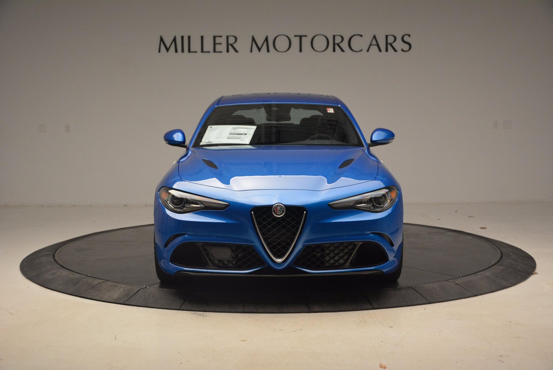 New 2018 Alfa Romeo Giulia Quadrifoglio For Sale In Westport, CT 1782_p12
