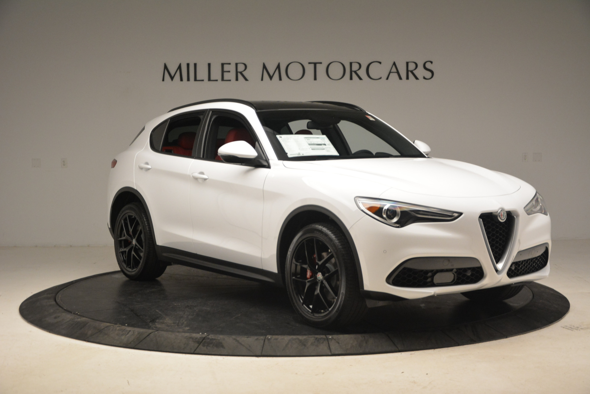 New 2018 Alfa Romeo Stelvio Ti Sport Q4 For Sale In Westport, CT 1783_p11
