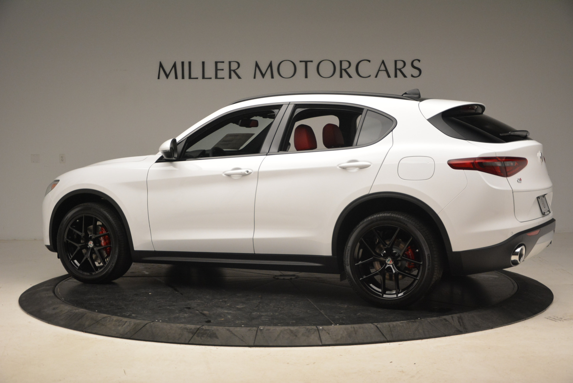 New 2018 Alfa Romeo Stelvio Ti Sport Q4 For Sale In Westport, CT 1783_p4