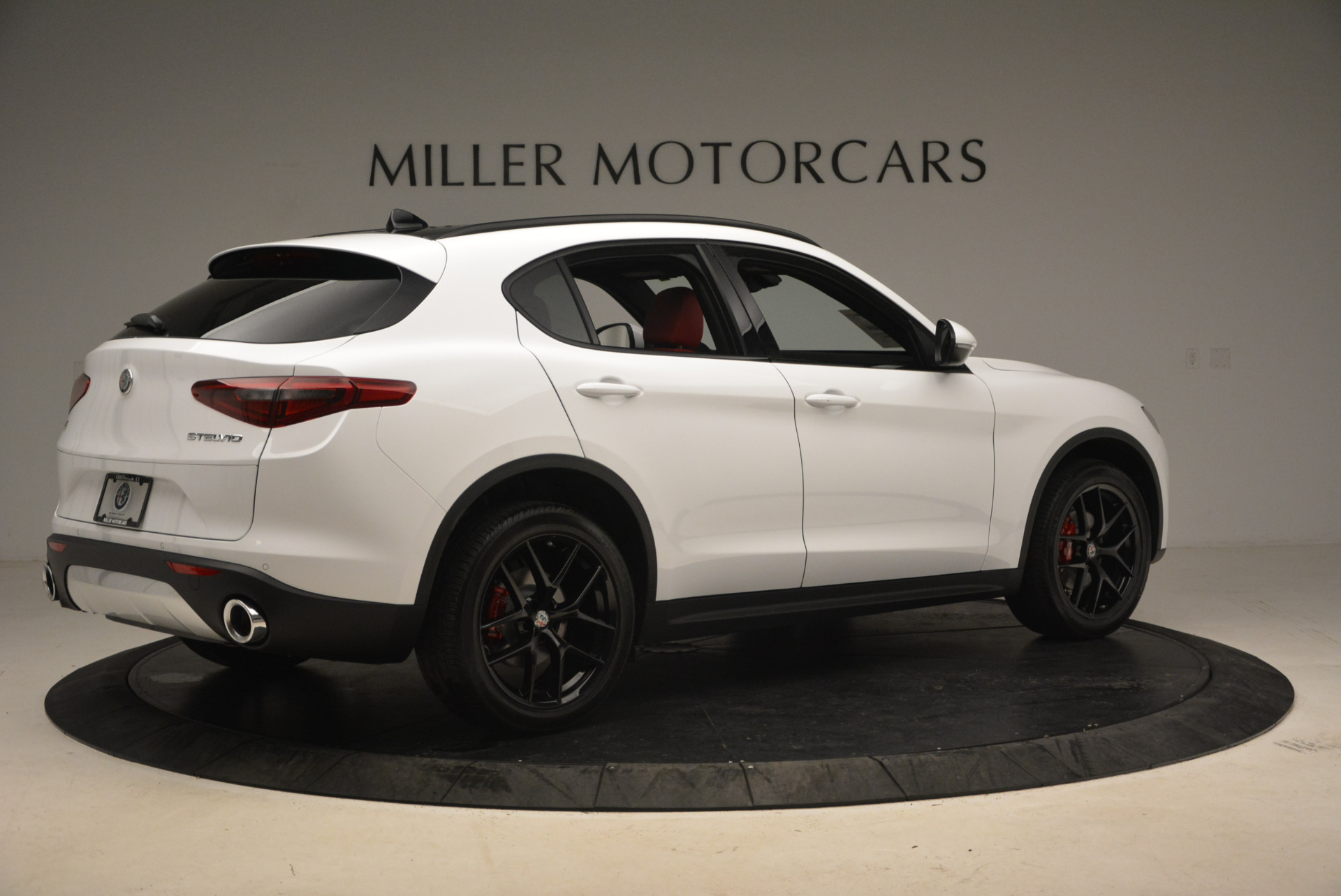 New 2018 Alfa Romeo Stelvio Ti Sport Q4 For Sale In Westport, CT 1783_p8