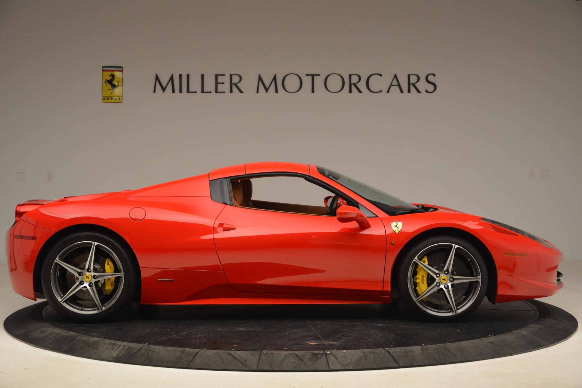 Used 2013 Ferrari 458 Spider  For Sale In Westport, CT 1784_p21
