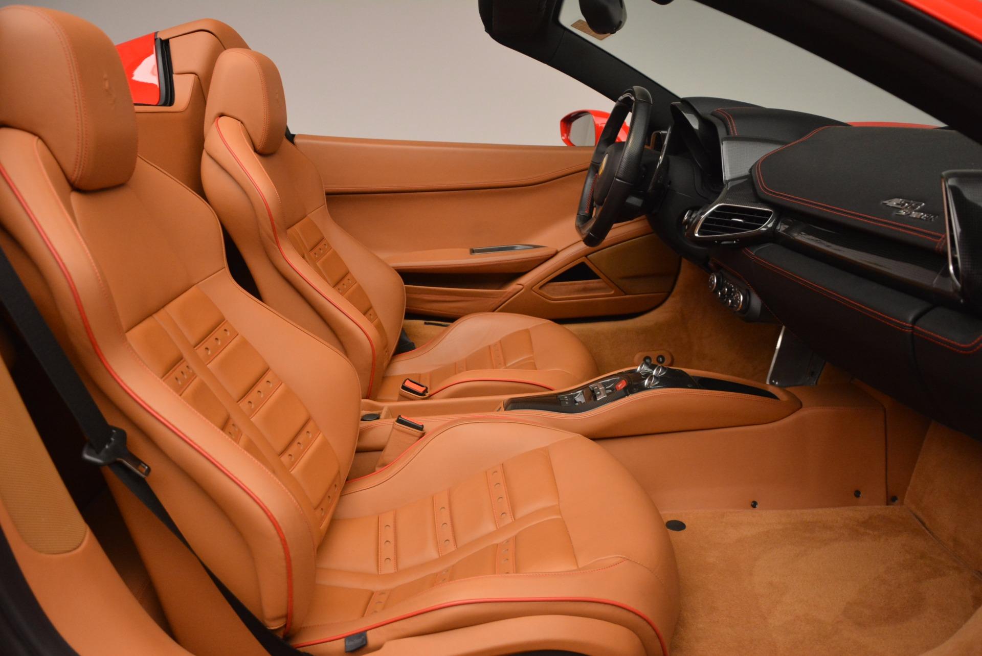 Used 2013 Ferrari 458 Spider  For Sale In Westport, CT 1784_p30