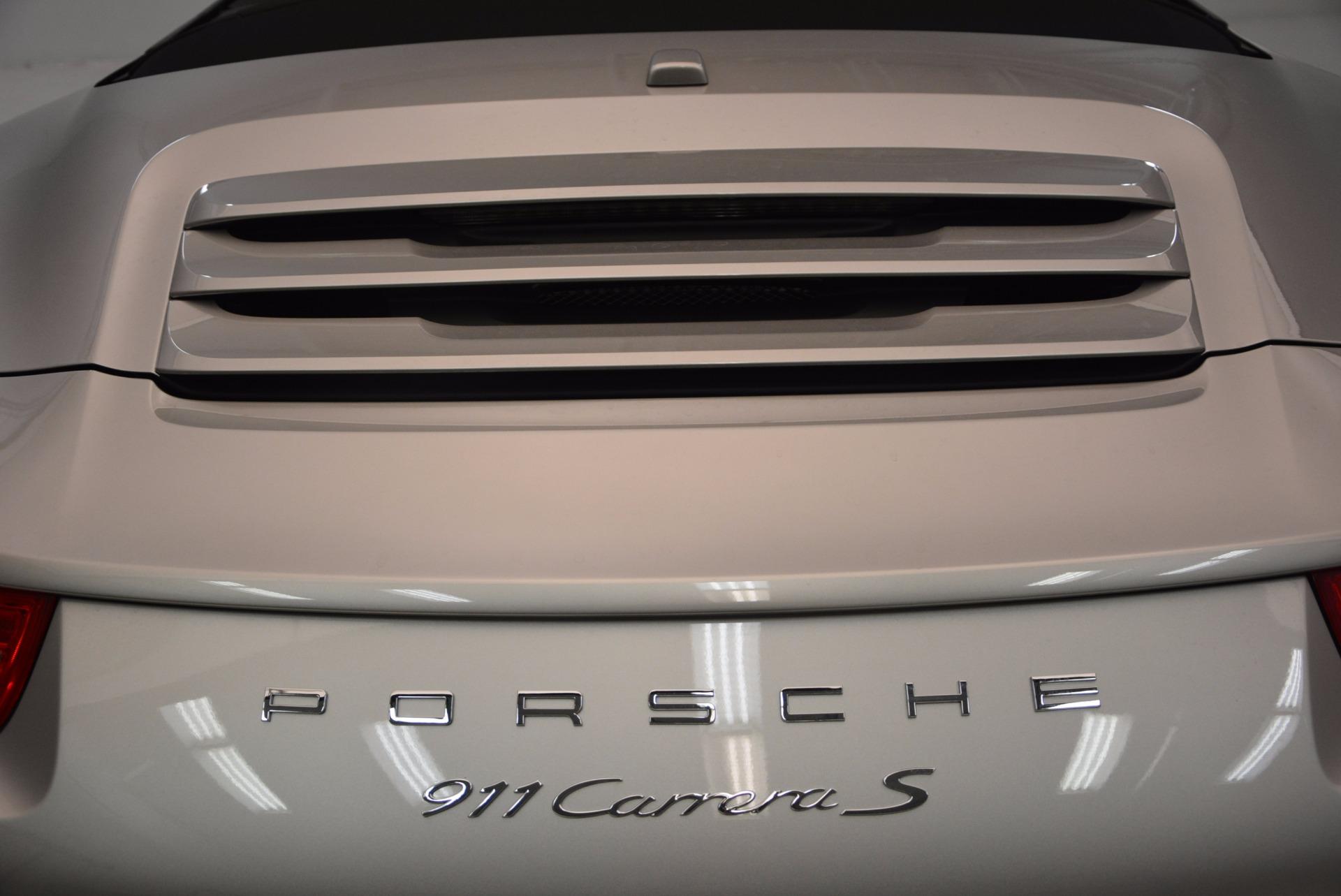 Used 2012 Porsche 911 Carrera S For Sale In Westport, CT 1790_p39