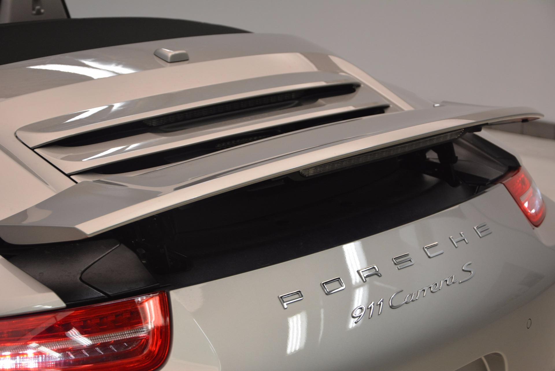 Used 2012 Porsche 911 Carrera S For Sale In Westport, CT 1790_p41