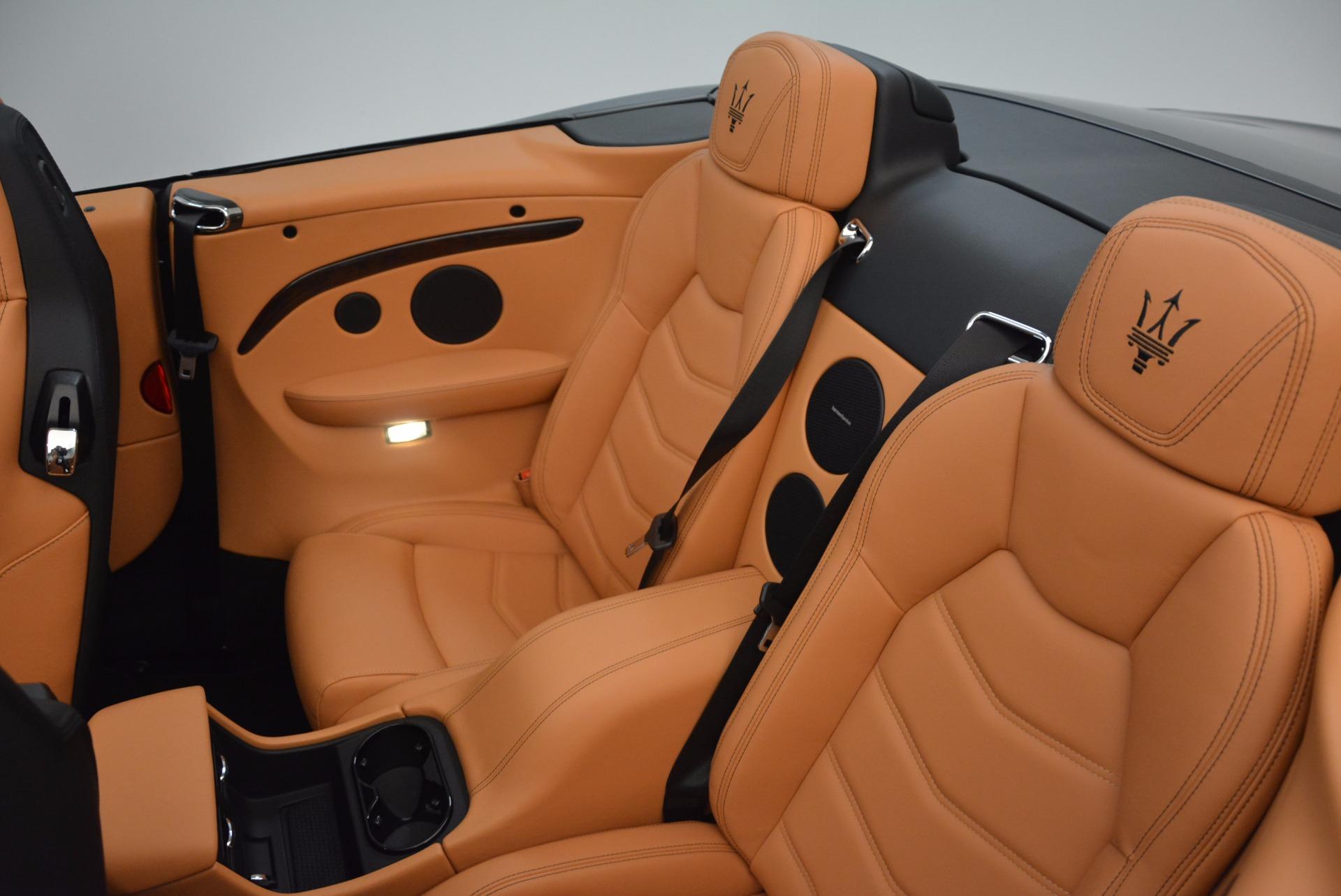 New 2018 Maserati GranTurismo Sport Convertible For Sale In Westport, CT 1795_p29