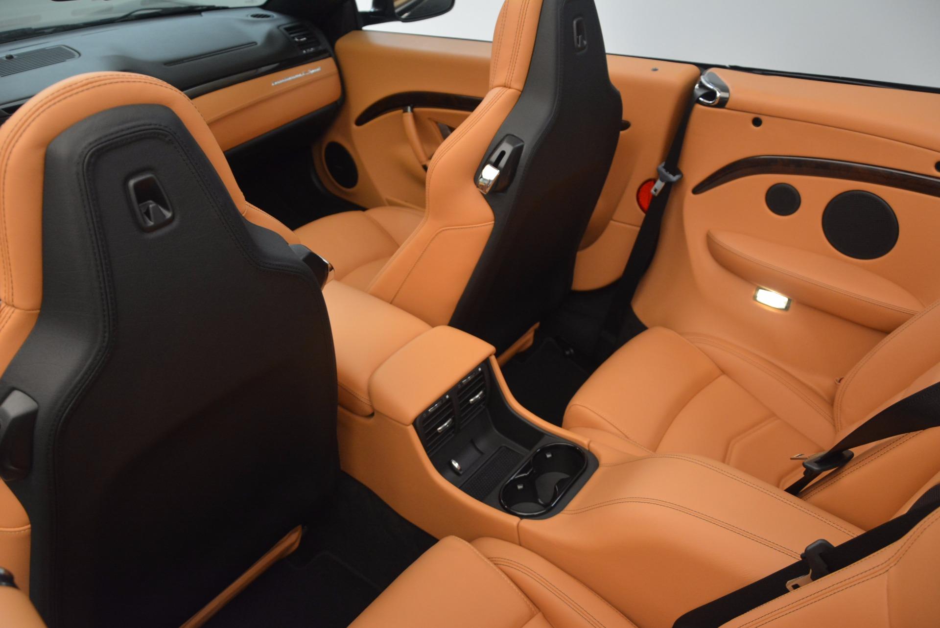 New 2018 Maserati GranTurismo Sport Convertible For Sale In Westport, CT 1795_p30