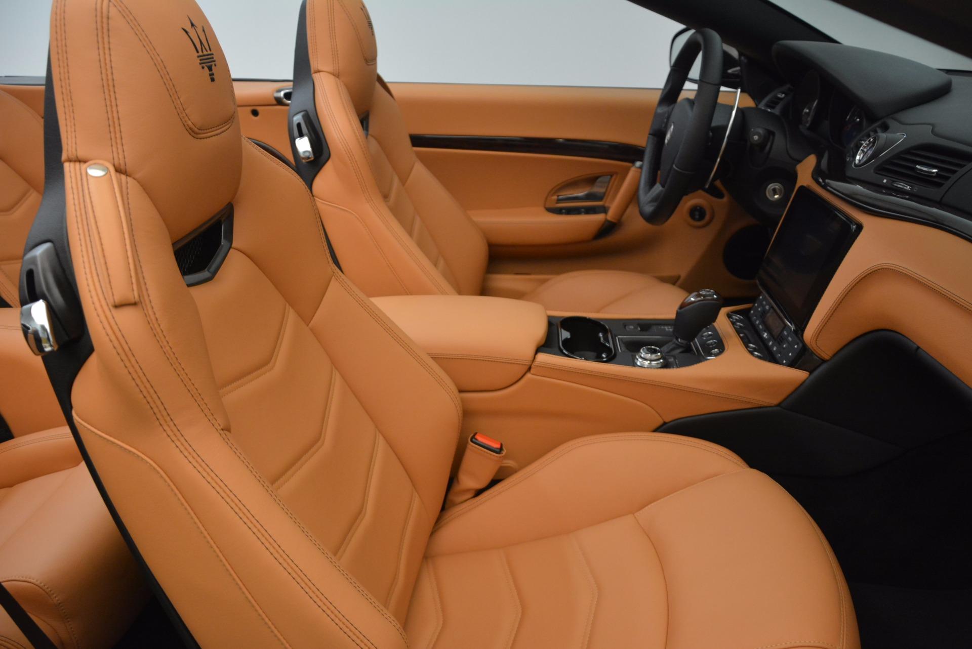 New 2018 Maserati GranTurismo Sport Convertible For Sale In Westport, CT 1795_p33