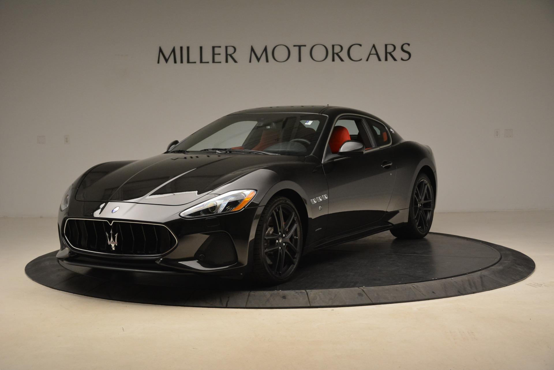 New 2018 Maserati GranTurismo Sport For Sale In Westport, CT 1799_main