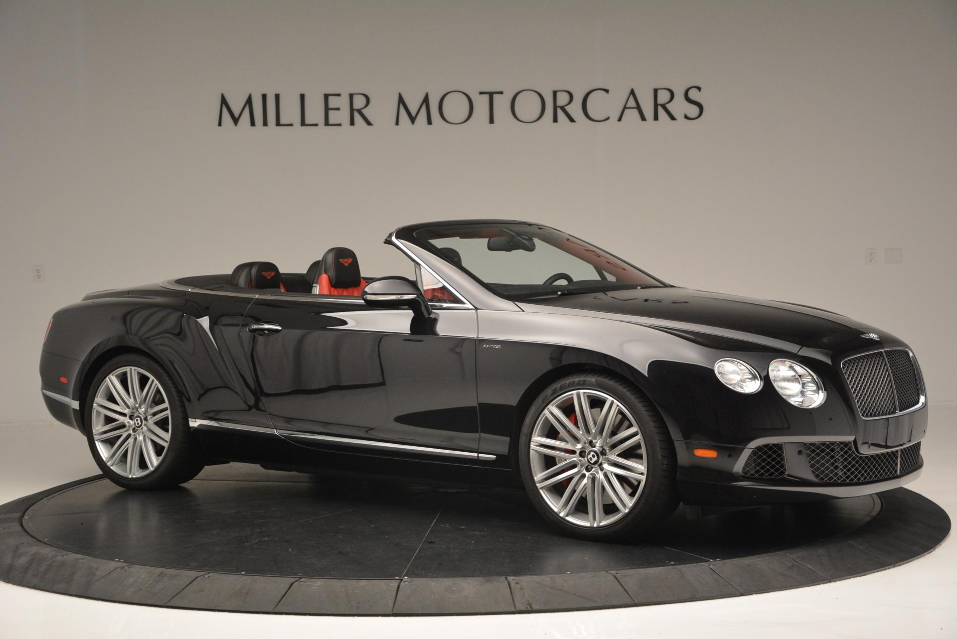 Used 2014 Bentley Continental GT Speed Convertible For Sale In Westport, CT 18_p10