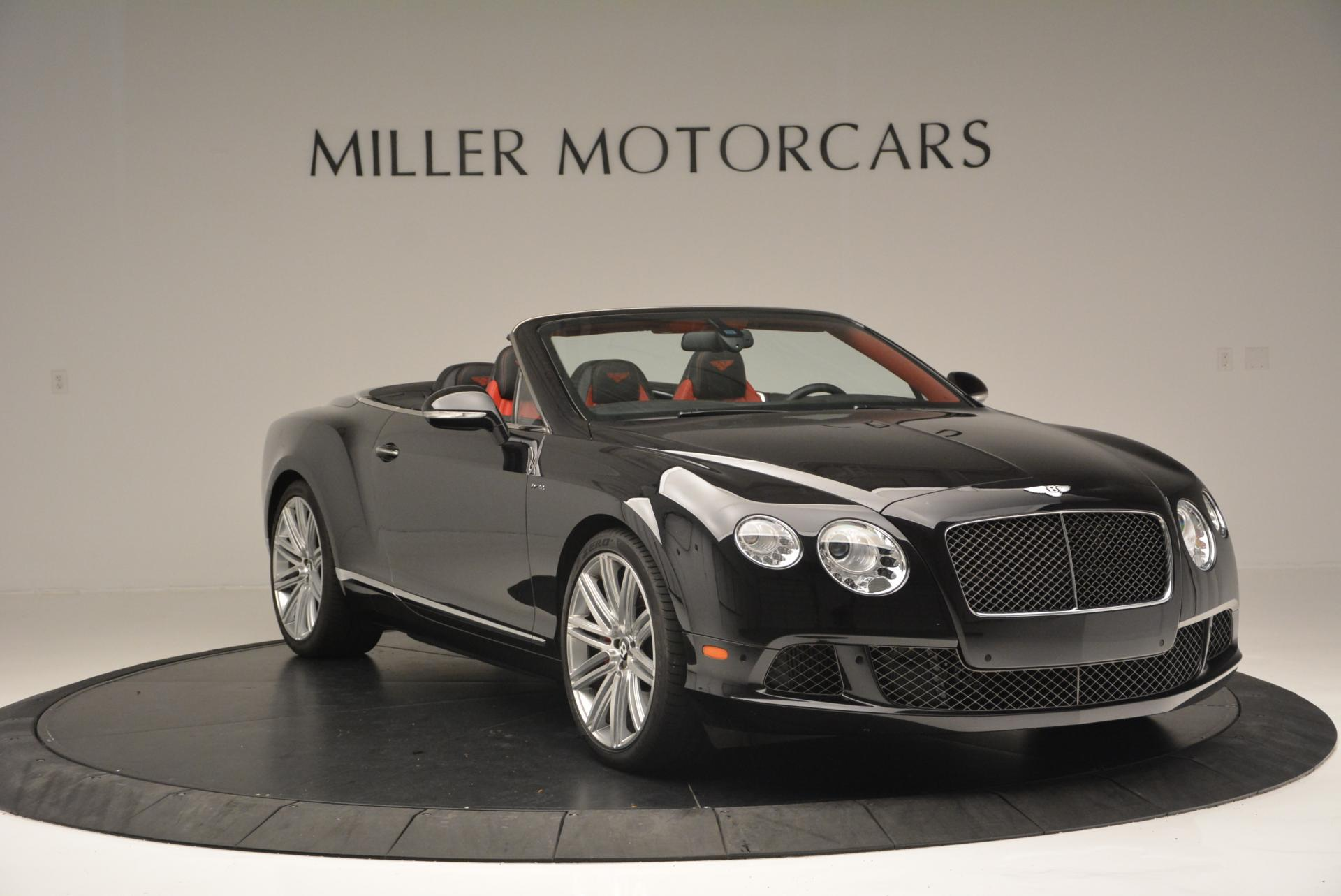 Used 2014 Bentley Continental GT Speed Convertible For Sale In Westport, CT 18_p11
