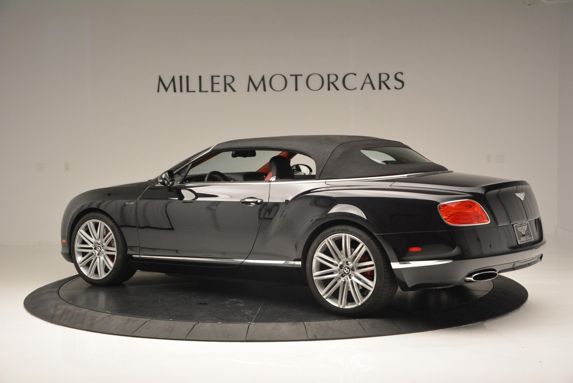 Used 2014 Bentley Continental GT Speed Convertible For Sale In Westport, CT 18_p17