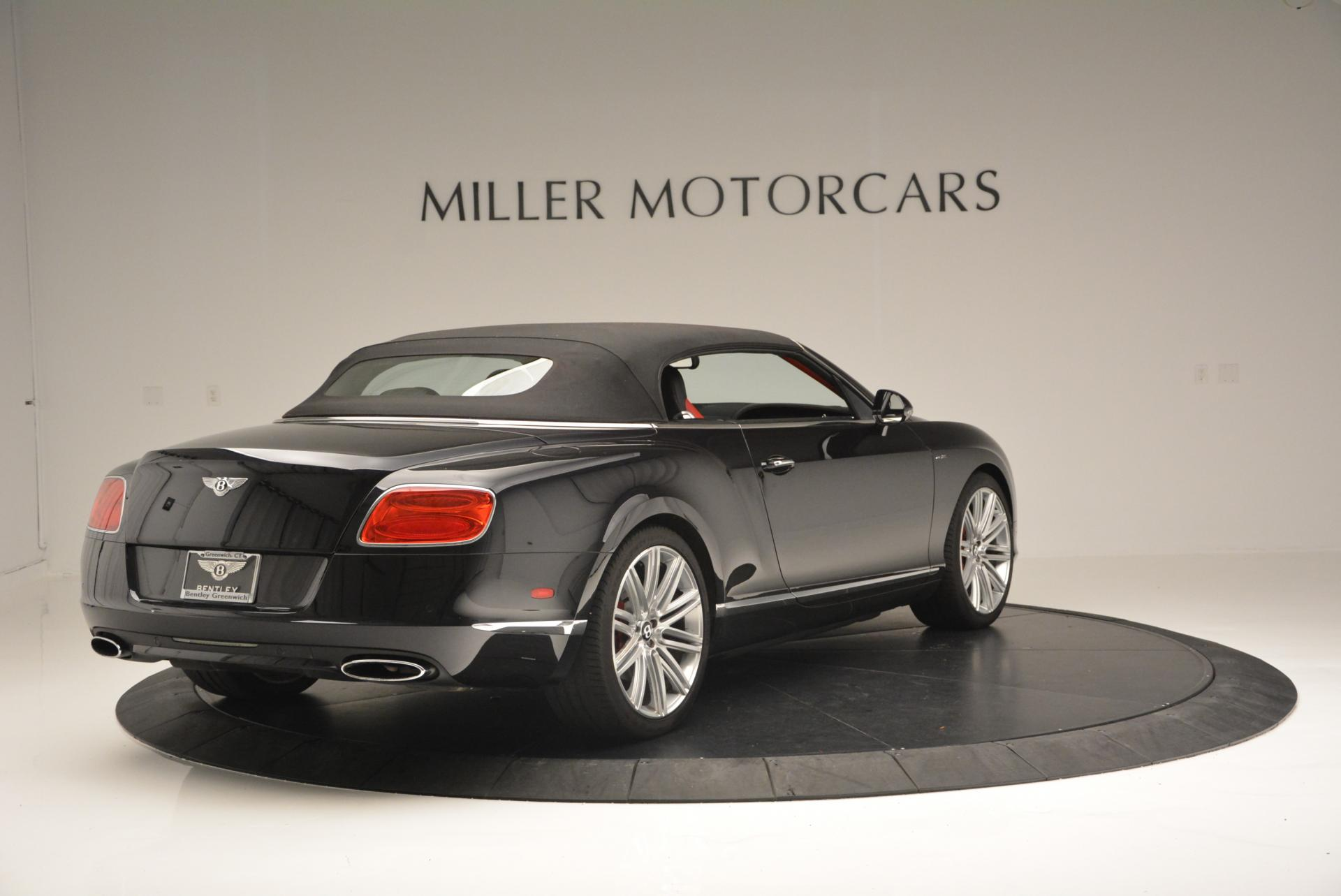 Used 2014 Bentley Continental GT Speed Convertible For Sale In Westport, CT 18_p20