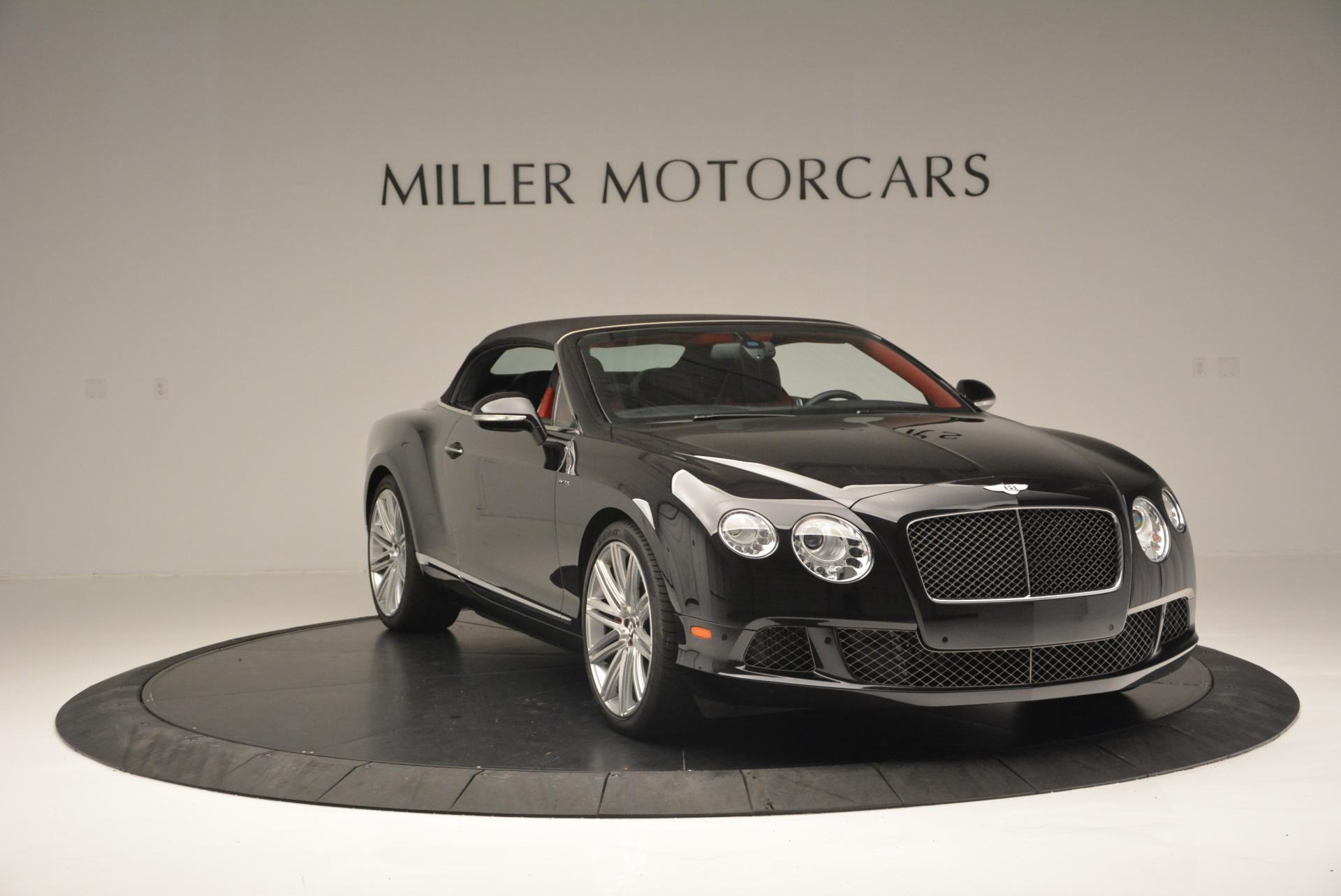 Used 2014 Bentley Continental GT Speed Convertible For Sale In Westport, CT 18_p24