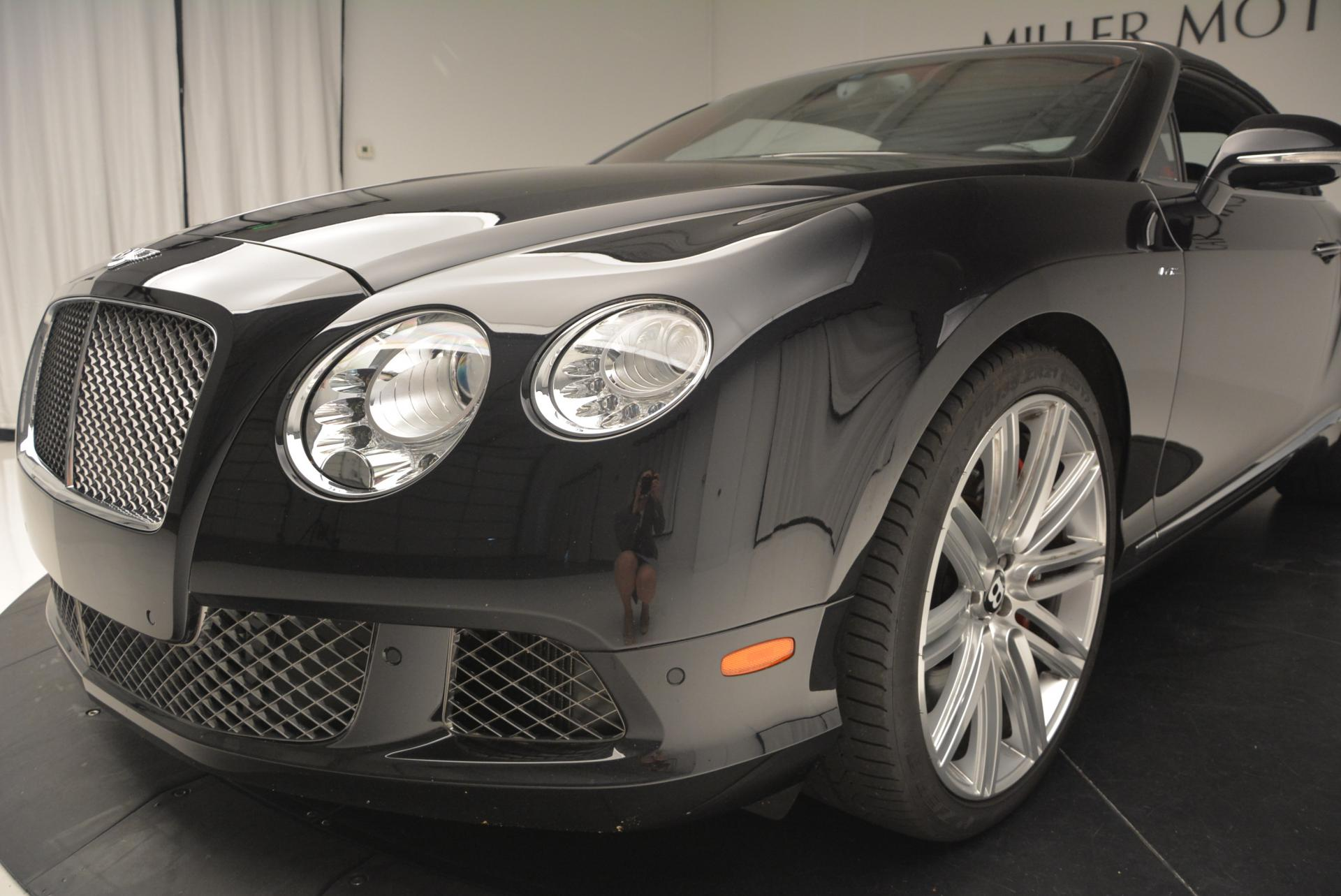 Used 2014 Bentley Continental GT Speed Convertible For Sale In Westport, CT 18_p26