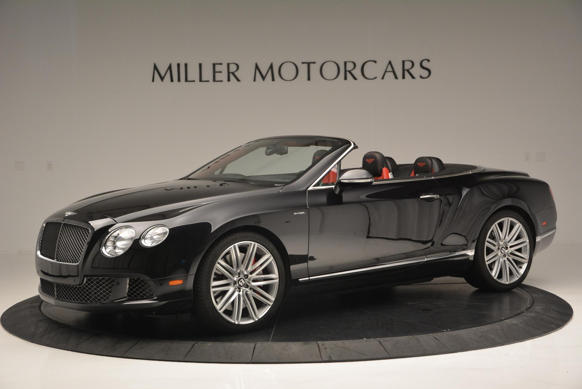 Used 2014 Bentley Continental GT Speed Convertible For Sale In Westport, CT 18_p2
